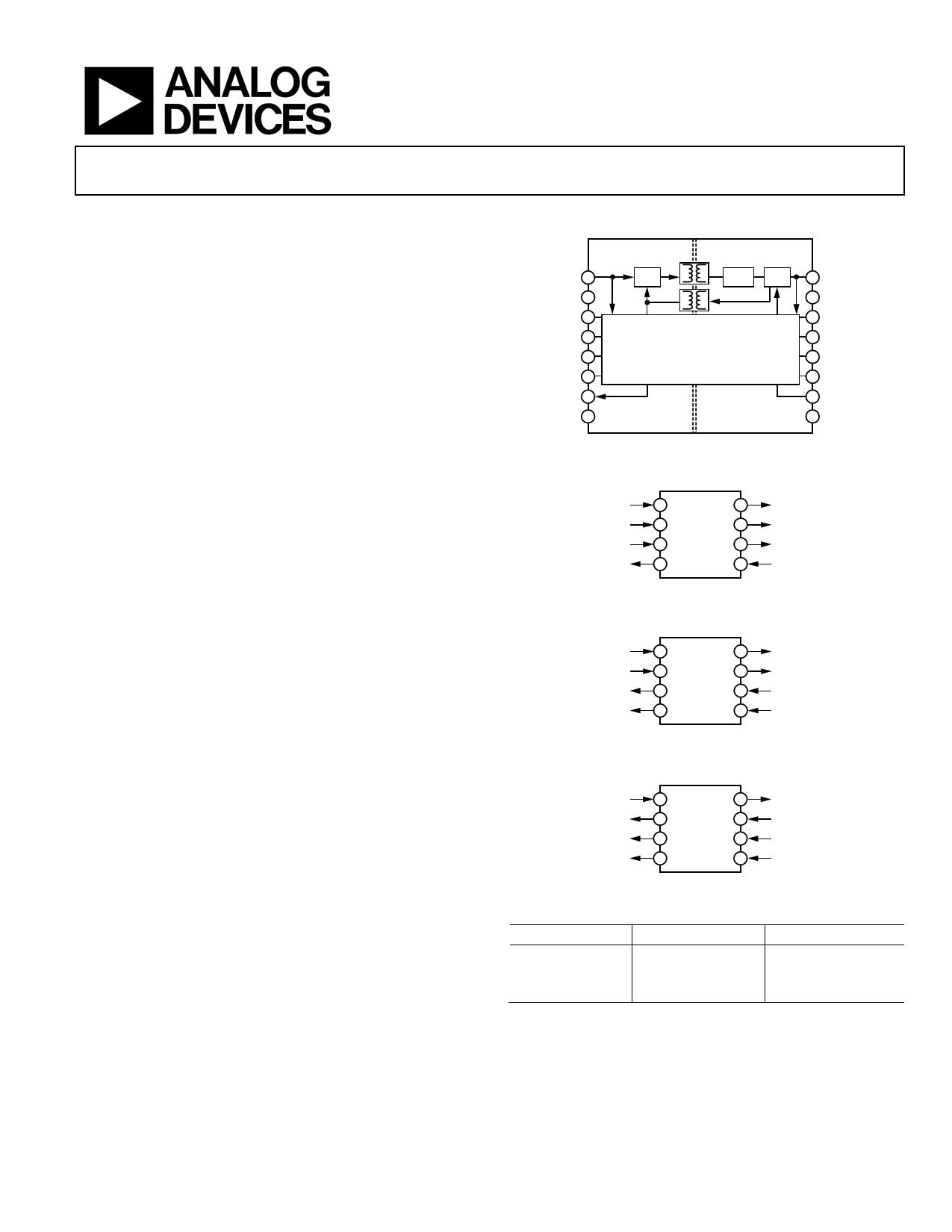 ADuM5403W دیتاشیت PDF