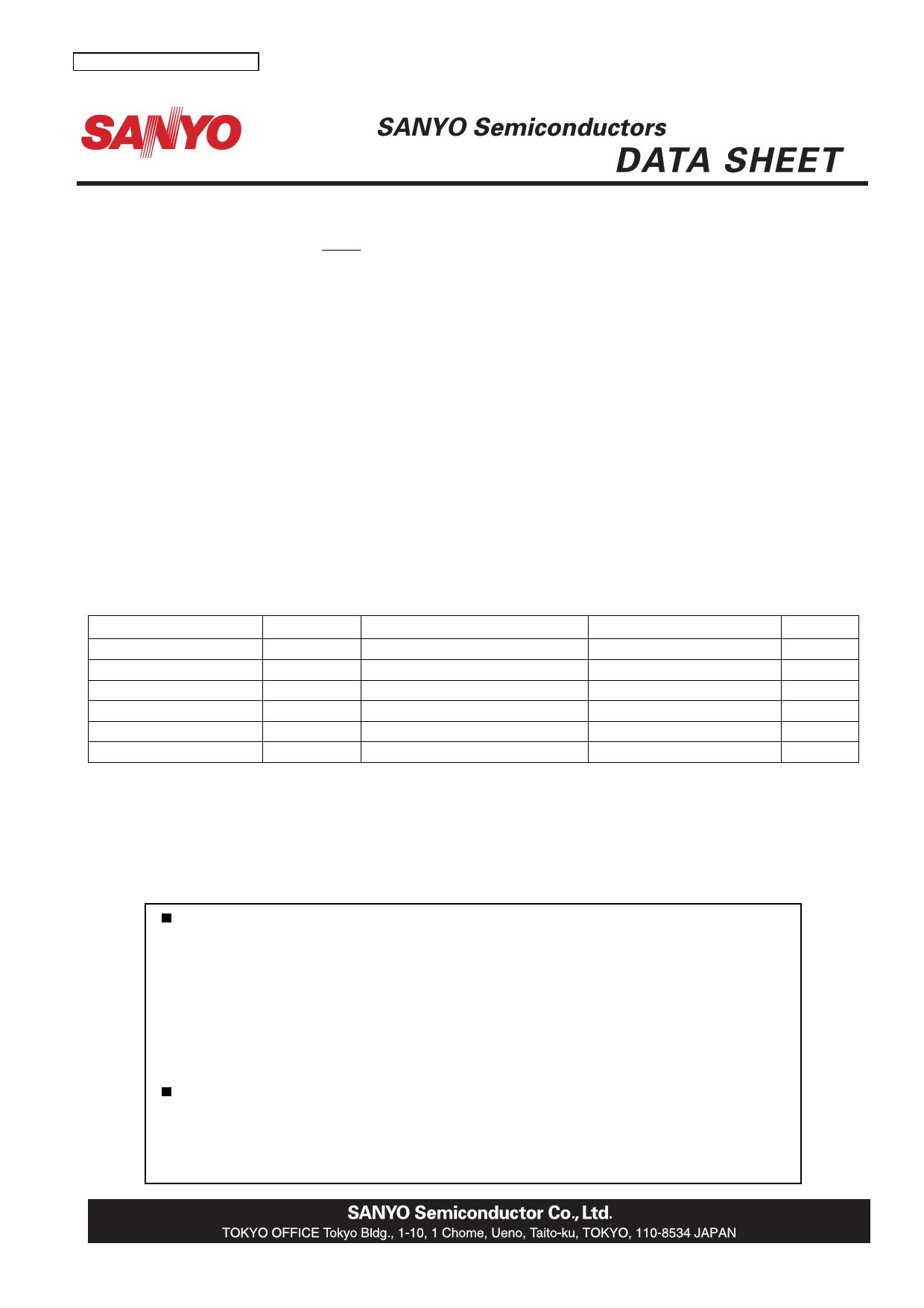 LA72680M دیتاشیت PDF