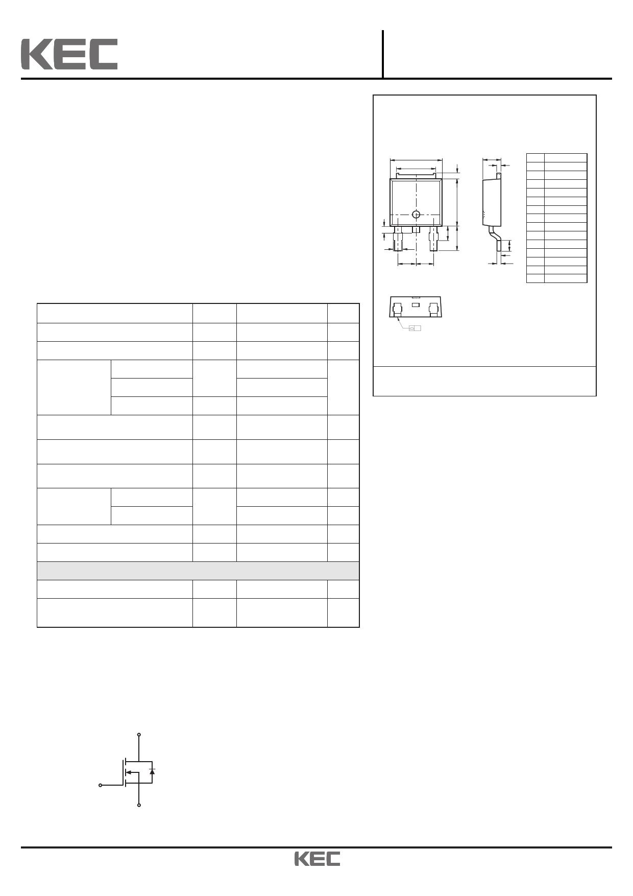 KF16N25D 데이터시트 및 KF16N25D PDF