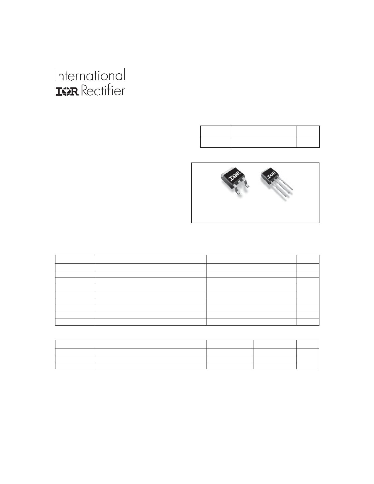 IRFU3706PbF Datasheet, IRFU3706PbF PDF,ピン配置, 機能