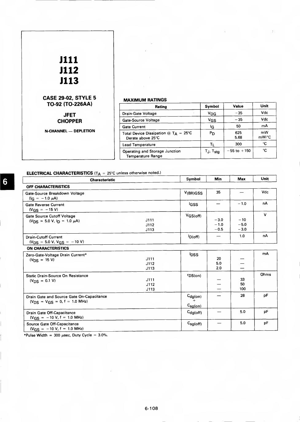 J113 دیتاشیت PDF