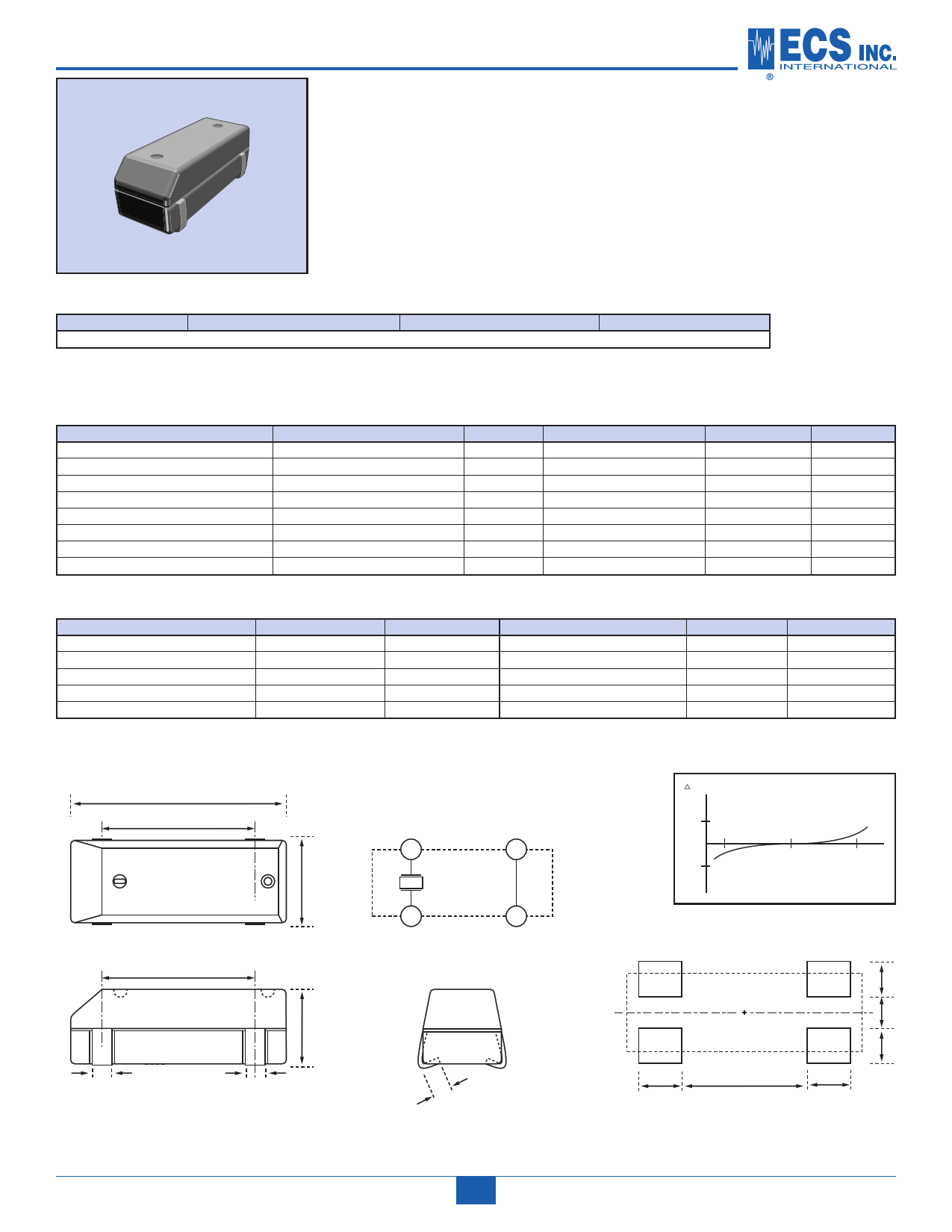 ECX-3S دیتاشیت PDF