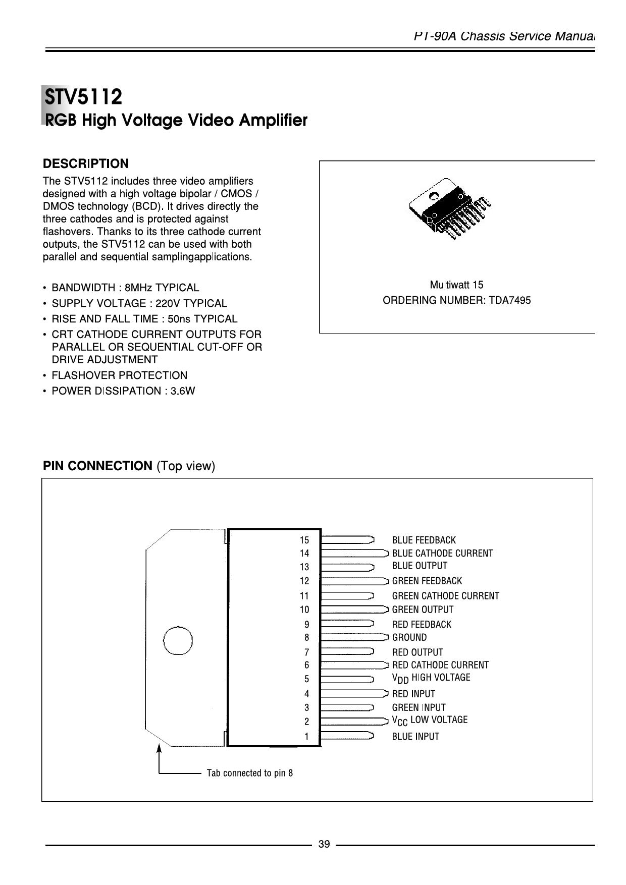 STV5112 pdf
