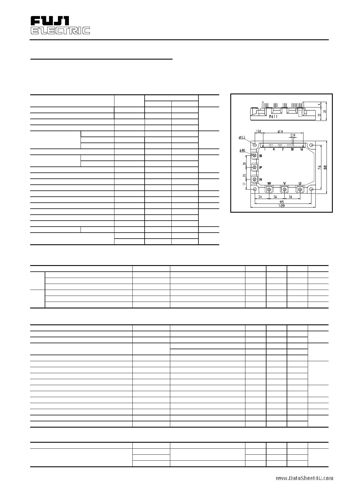 7MBP150RA-060 دیتاشیت PDF