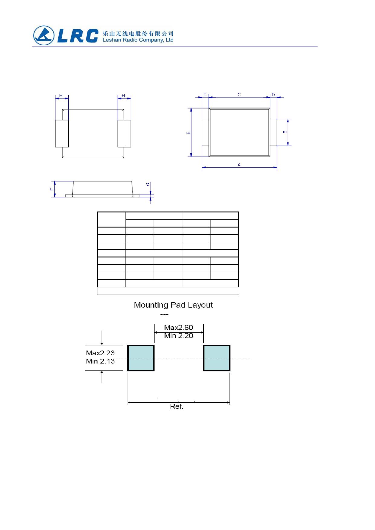 LUMBF260 pdf, ピン配列