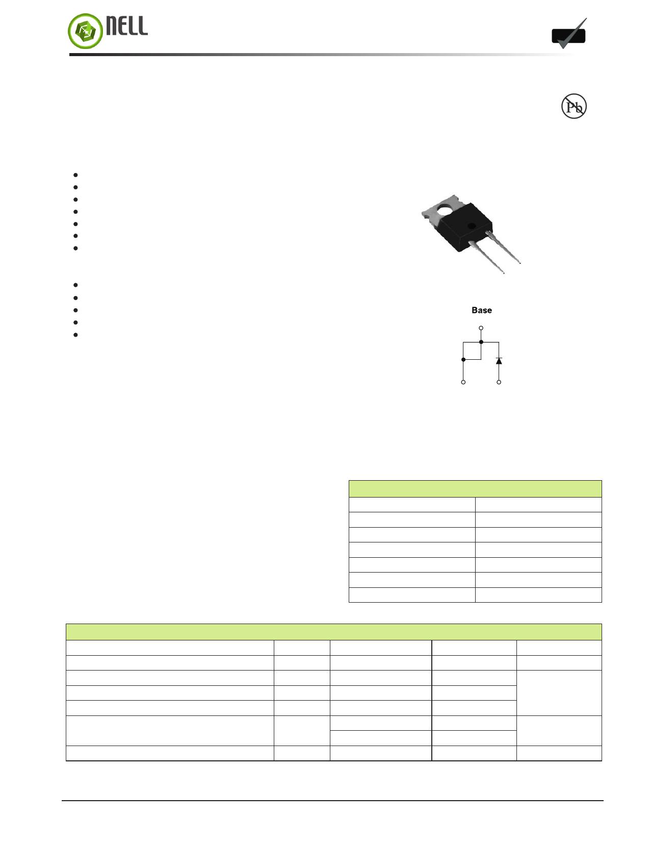 N-HFA15TB60 دیتاشیت PDF