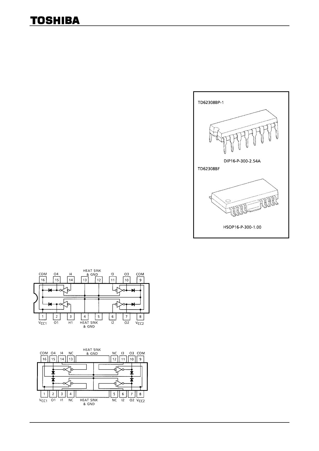TD62308BF دیتاشیت PDF