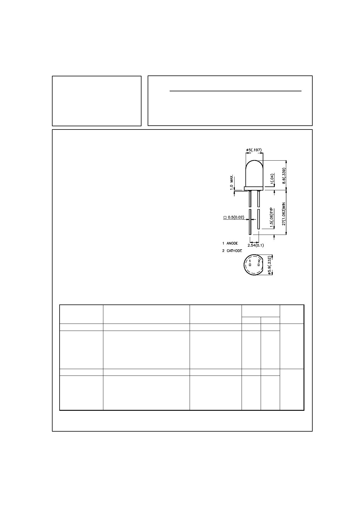 L-53SRD-H datasheet