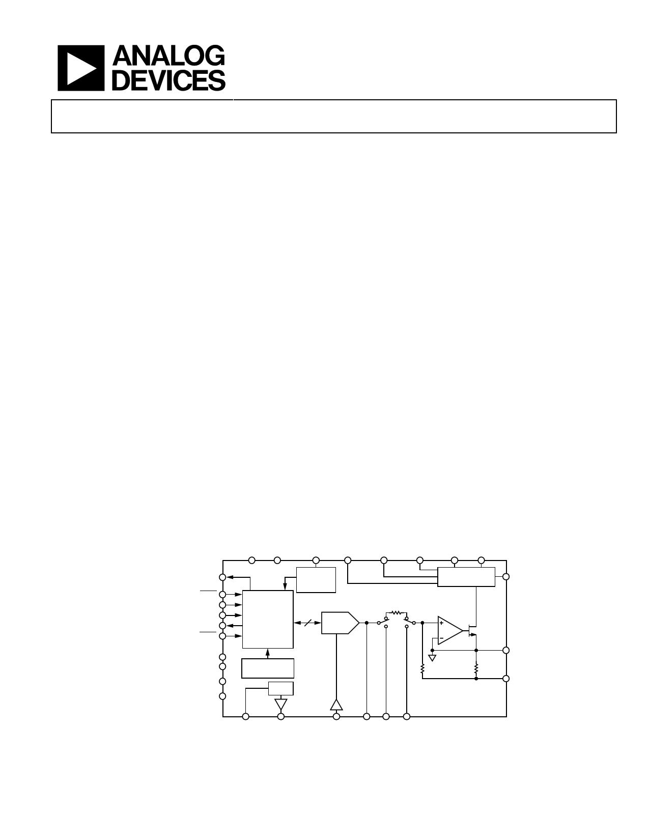 AD5421 Hoja de datos, Descripción, Manual