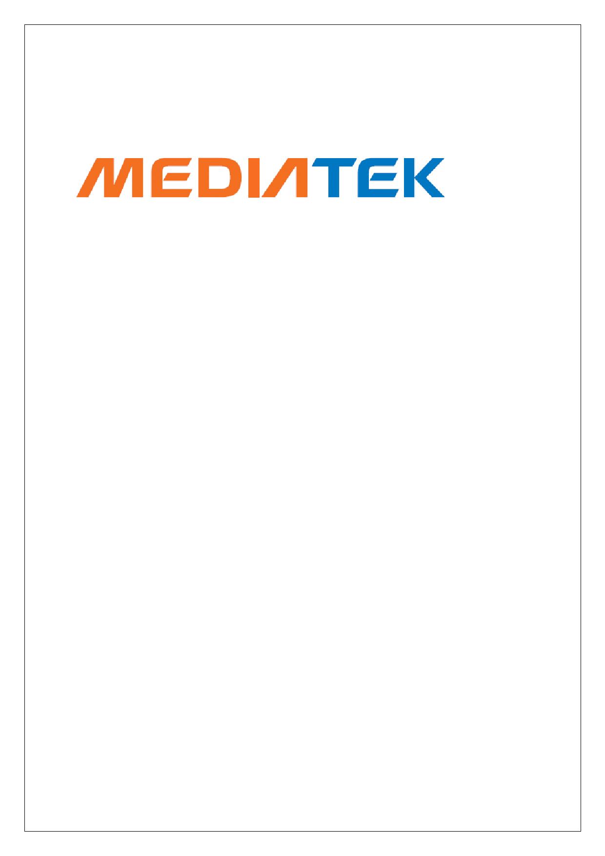 MT6589 datasheet