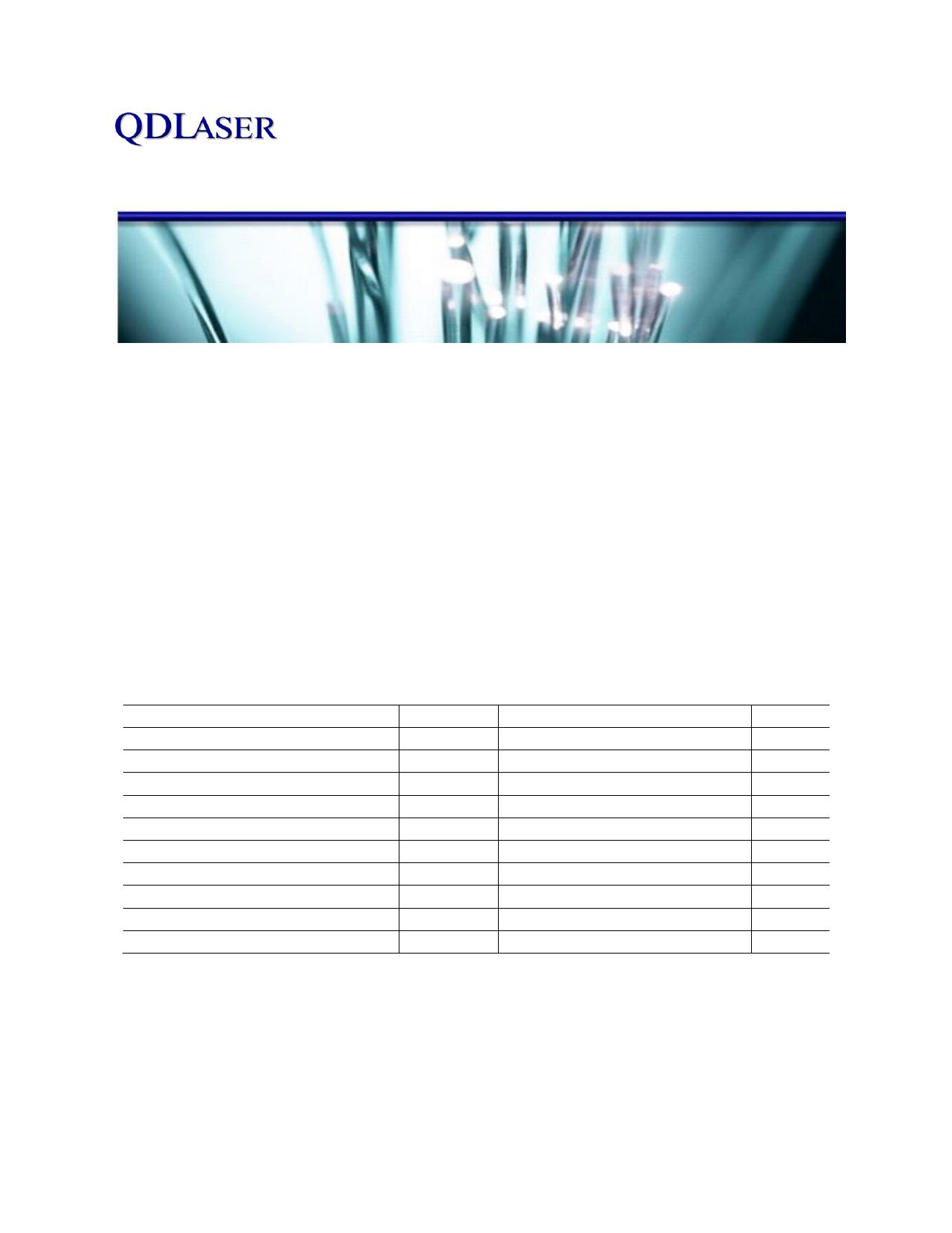 QLD106D-64D0 datasheet