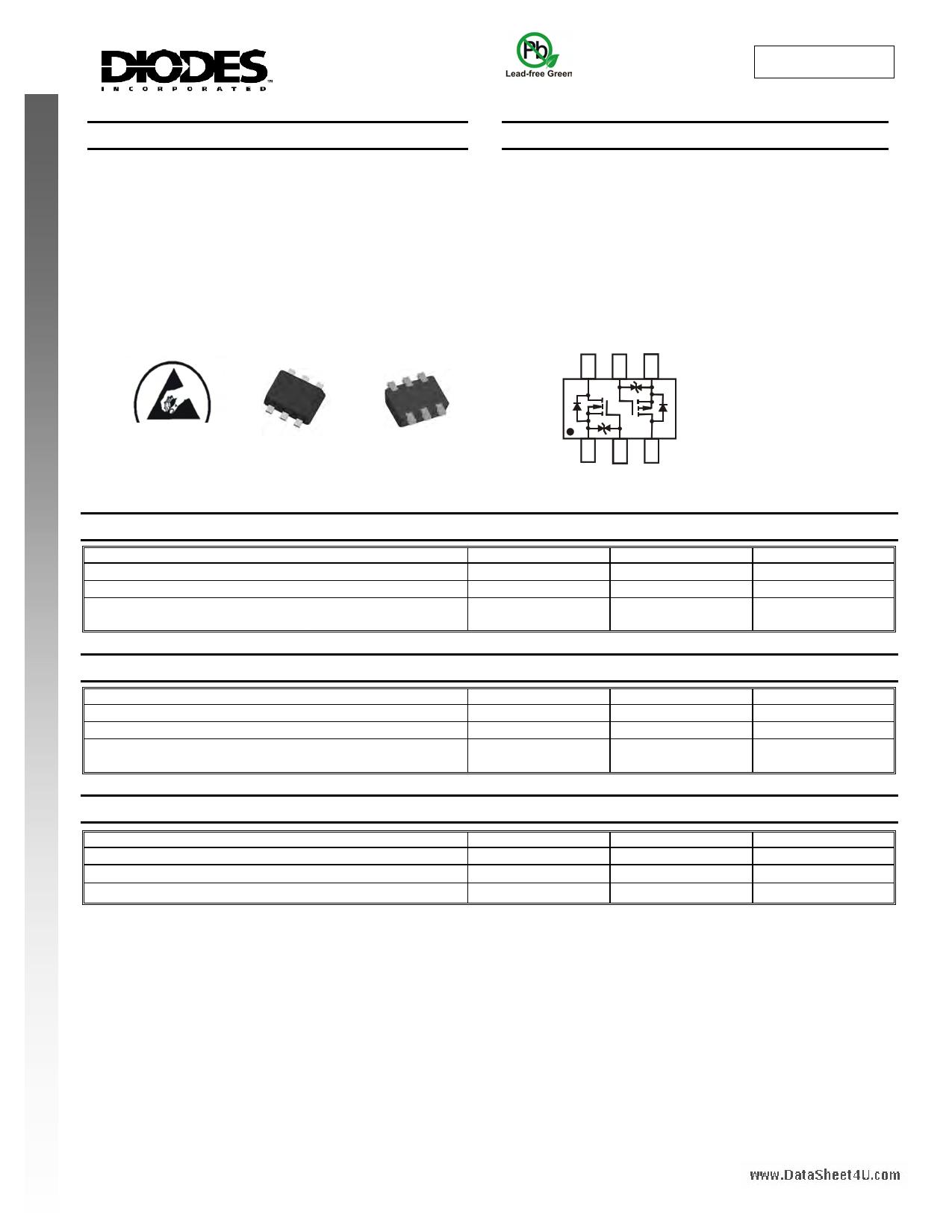 DMC2004VK datasheet