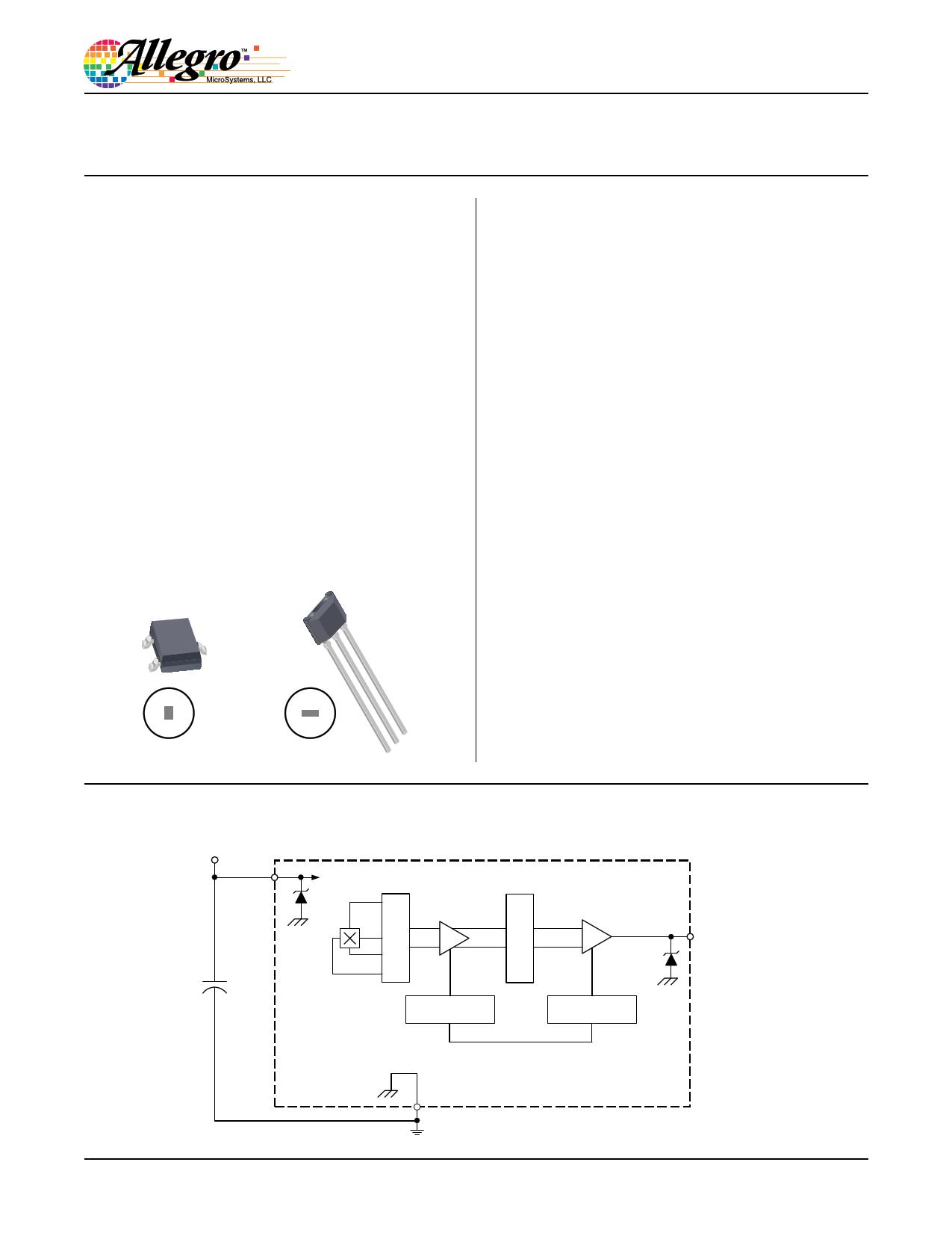 A1318 datasheet, circuit