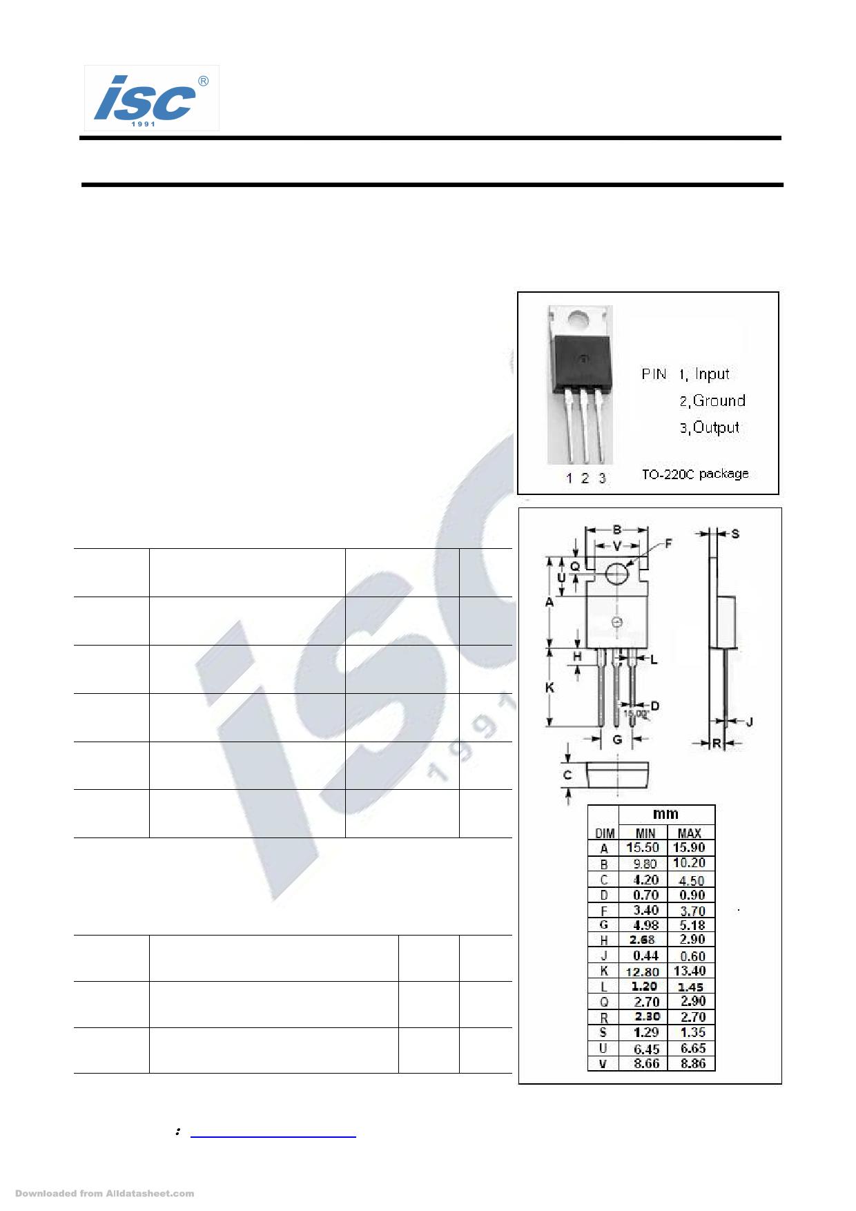 7805 دیتاشیت PDF