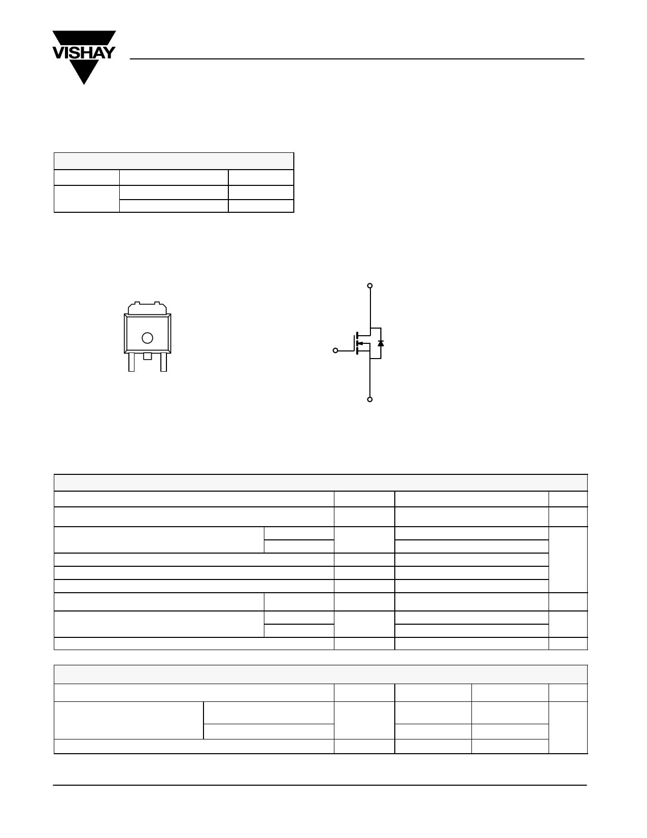 SUD23N06-31L datasheet