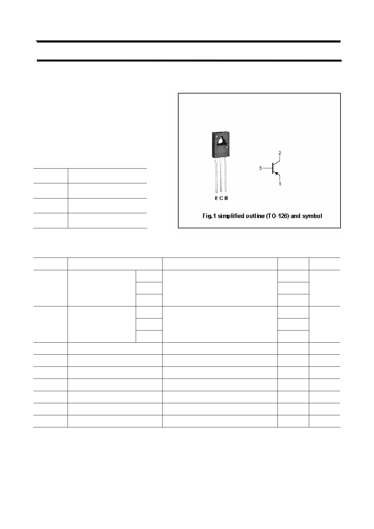 BD436 دیتاشیت PDF