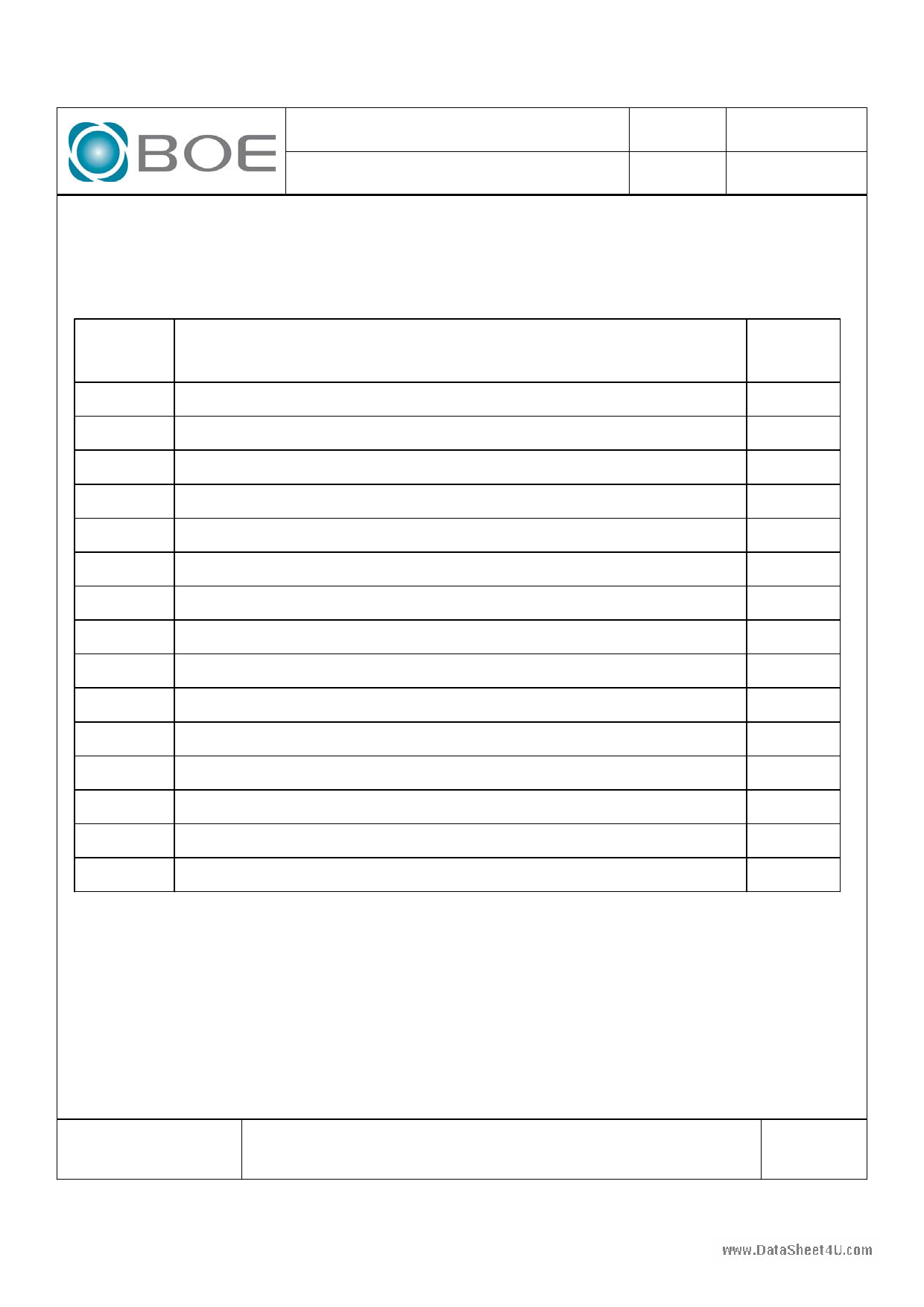 HV150UX1-101 pdf, ピン配列