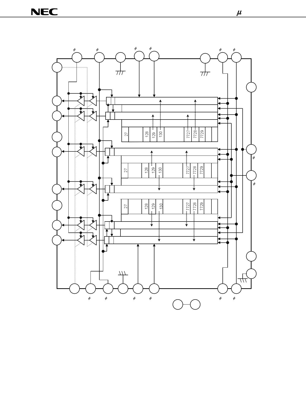upd8827a datasheet pdf   pinout