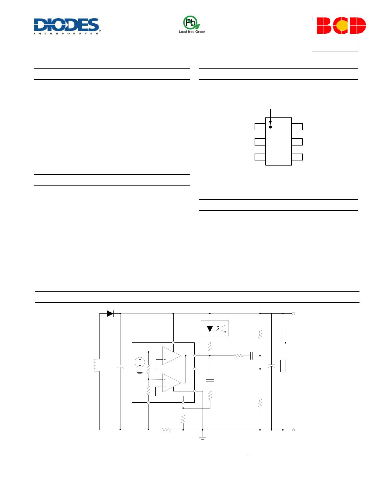 AP4305 Datasheet, ピン配置, 機能