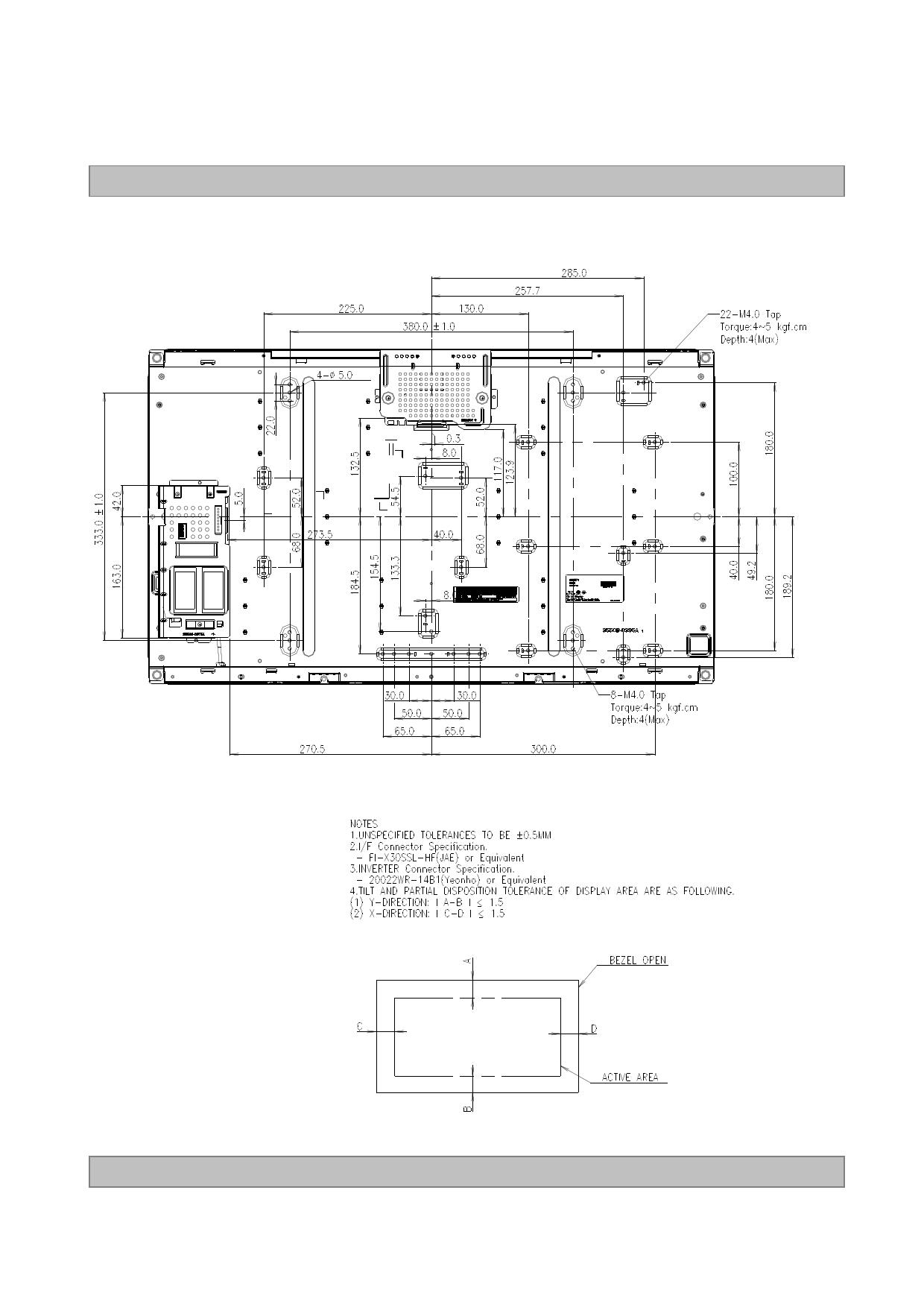 lc320wxn-sba3 datasheet pdf   pinout
