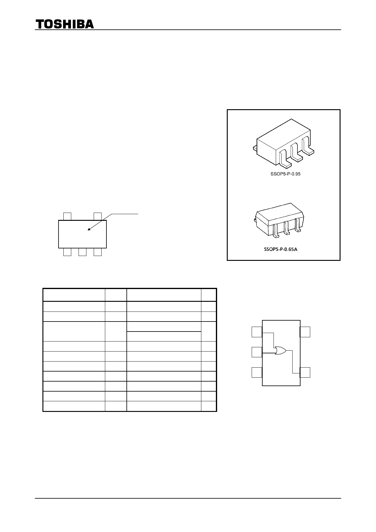 TC7SZ32 دیتاشیت PDF