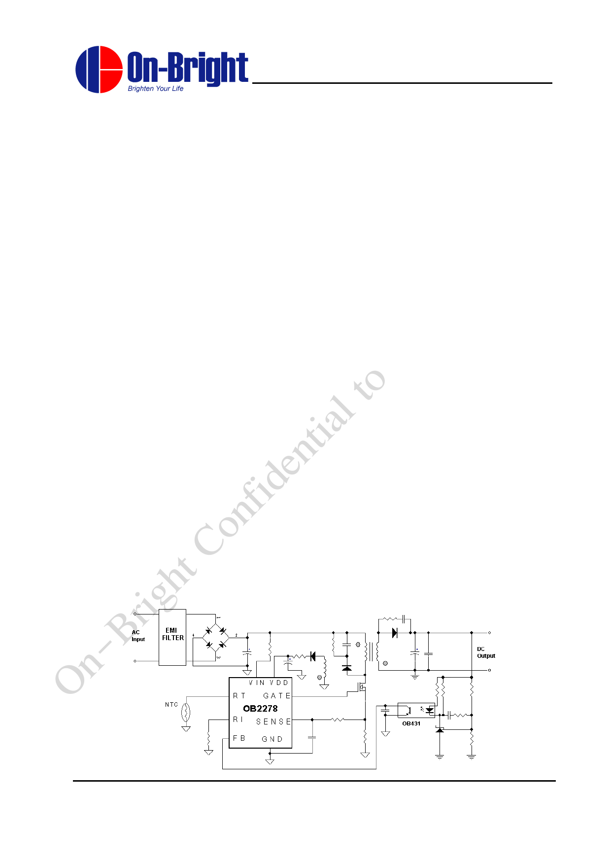 OB2278 دیتاشیت PDF