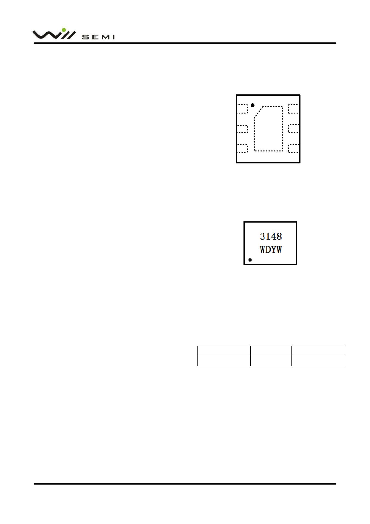 WD3148 datasheet