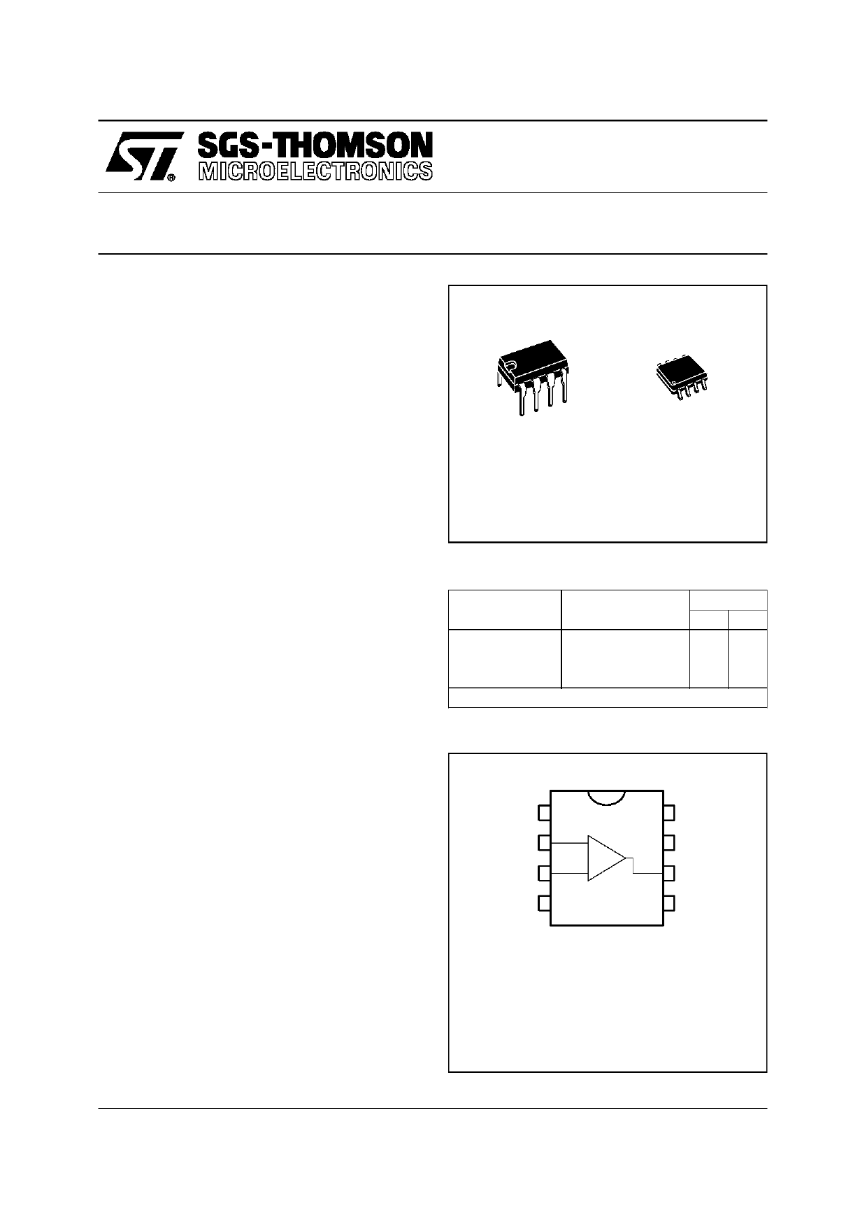 TS271C Datasheet, TS271C PDF,ピン配置, 機能