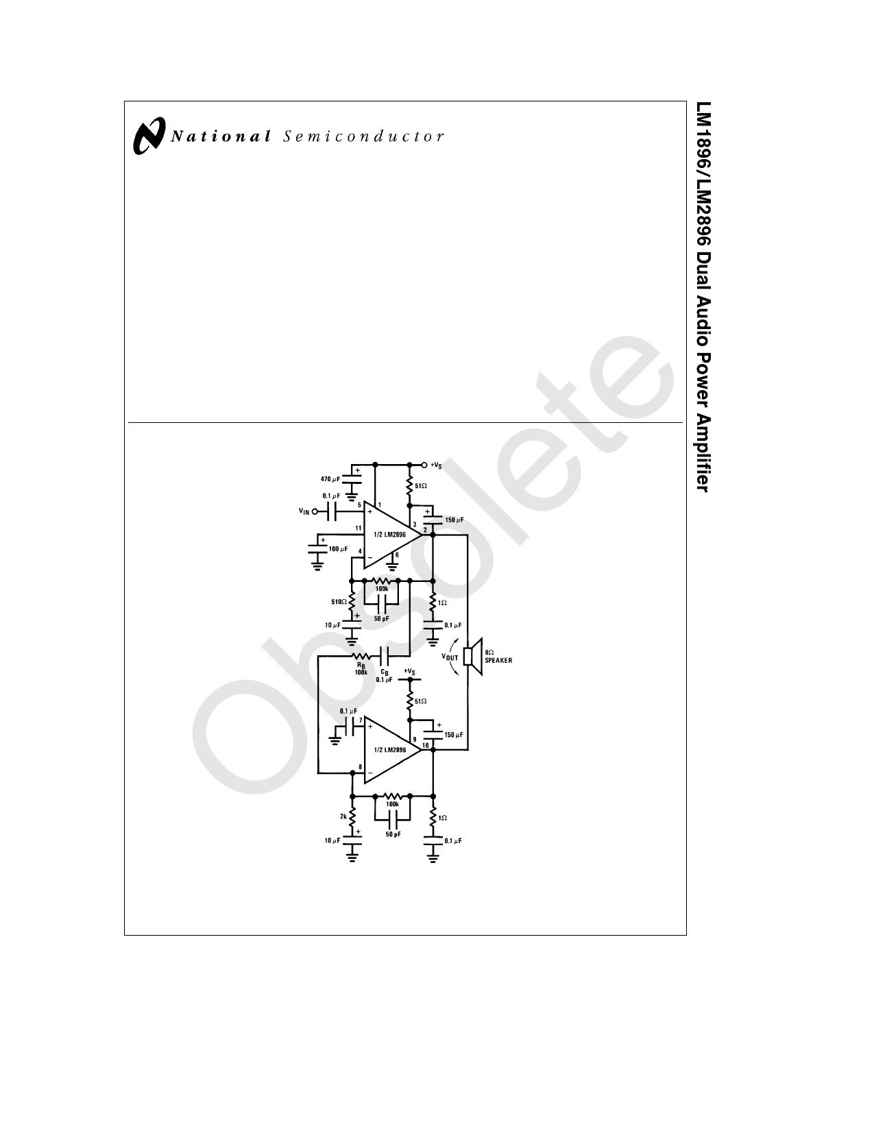 LM2896 Datenblatt PDF