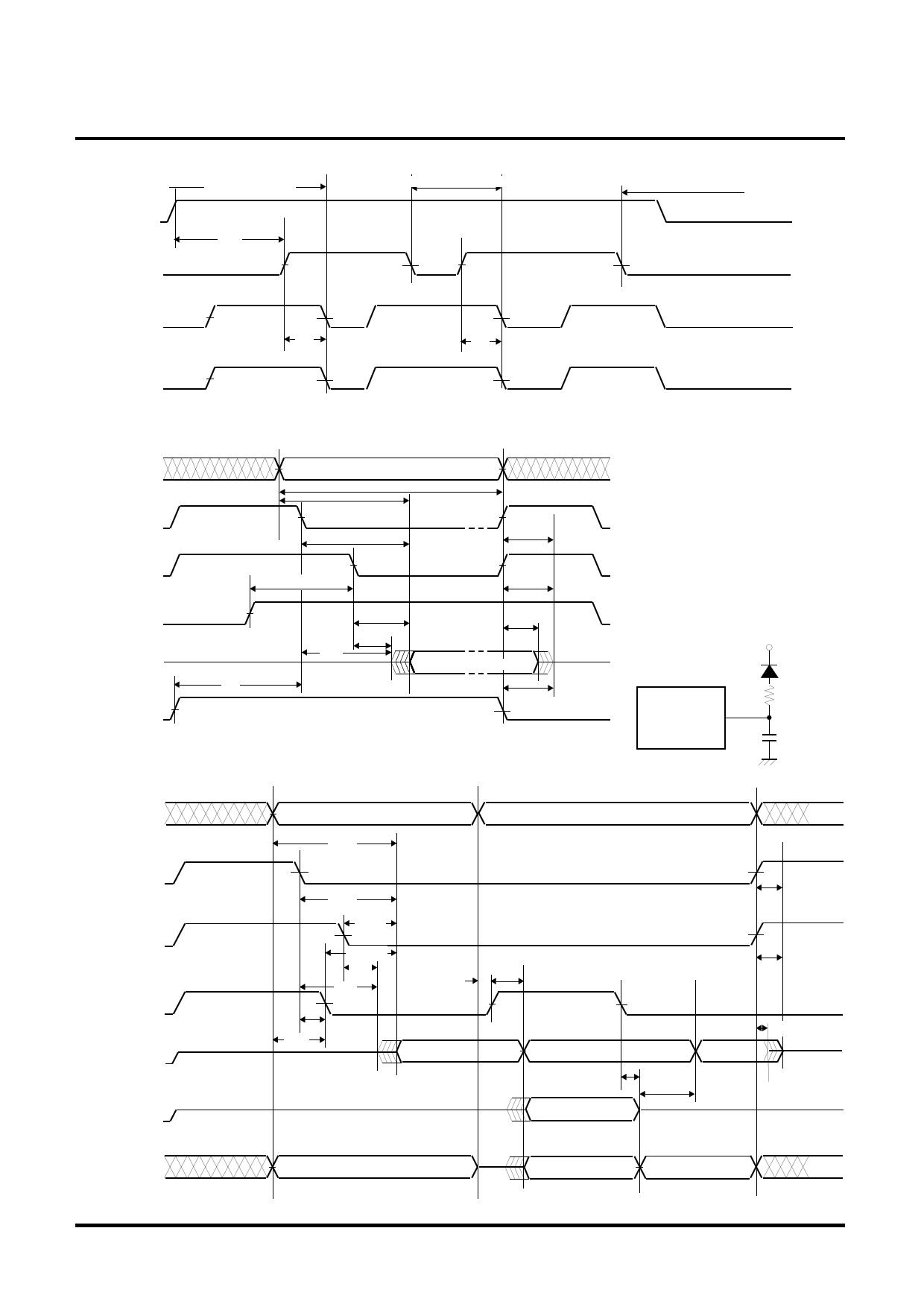 M5M29FT800VP-12 diode, scr