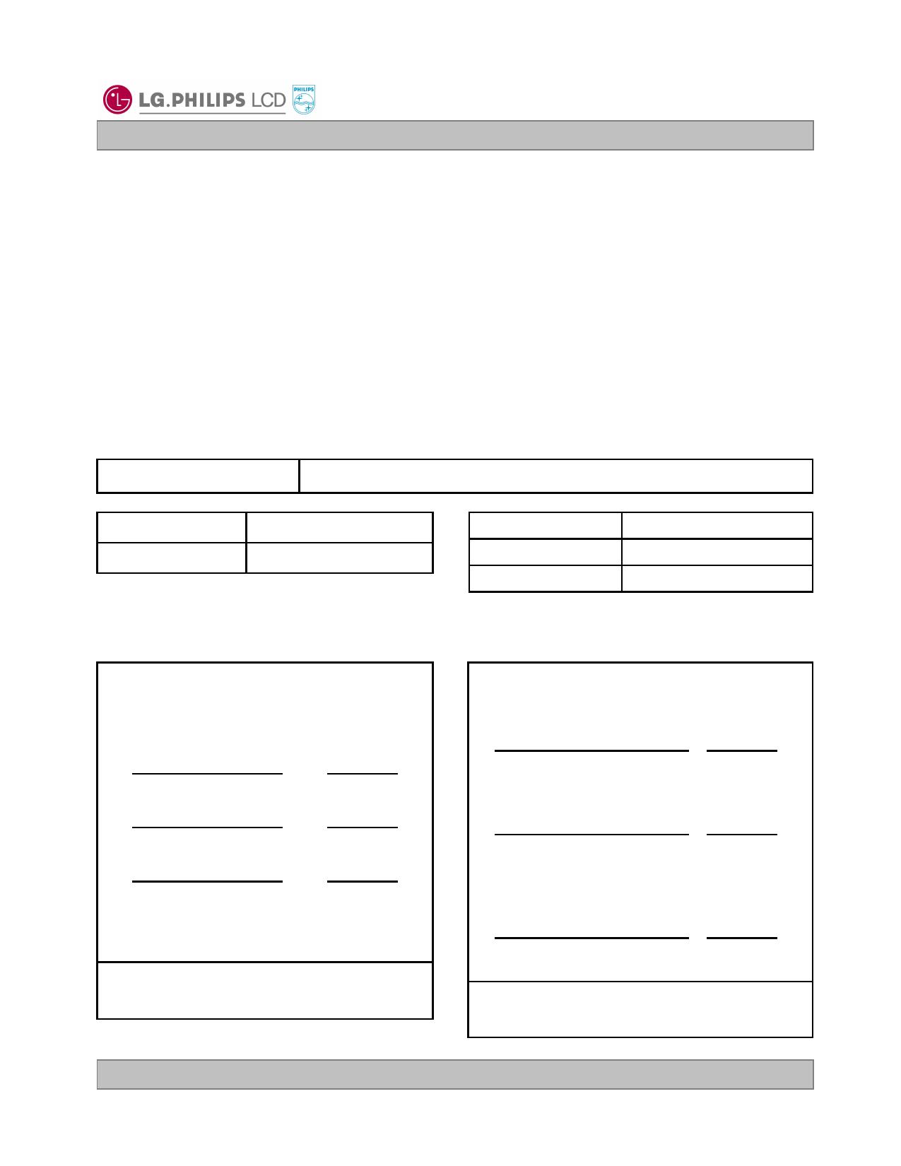 LB070WV1-TD08 دیتاشیت PDF