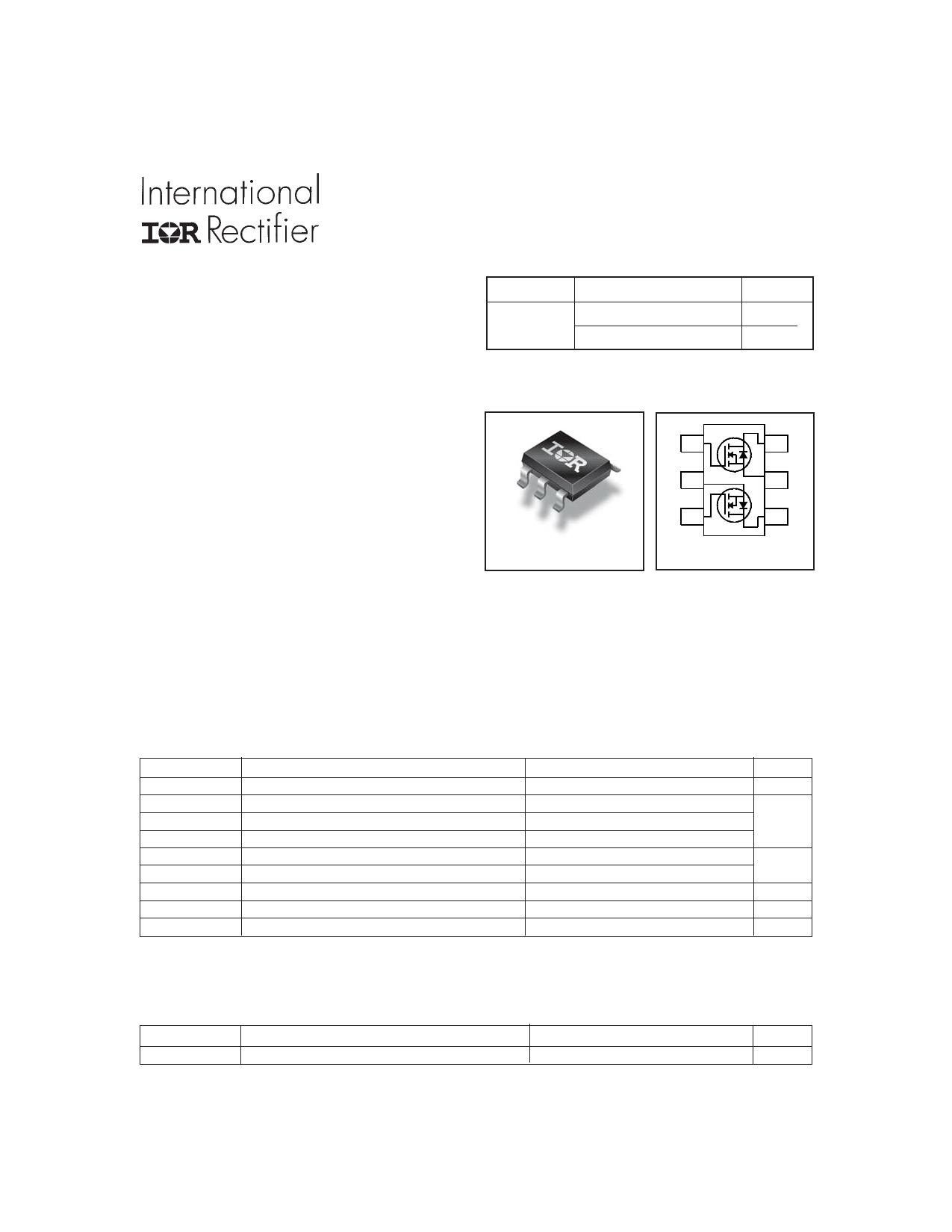 IRF5852PbF دیتاشیت PDF