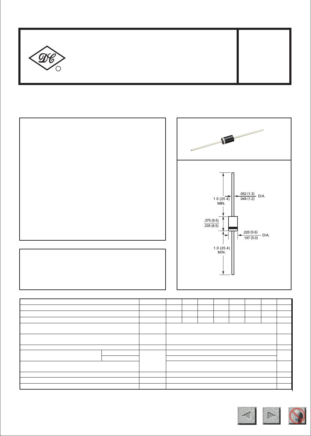 1N5401G Datasheet, 1N5401G PDF,ピン配置, 機能