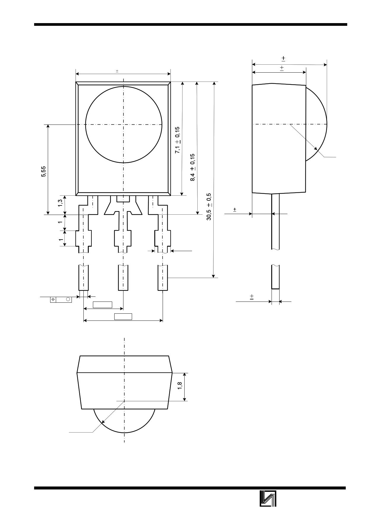 ILOP1838SS 電子部品, 半導体