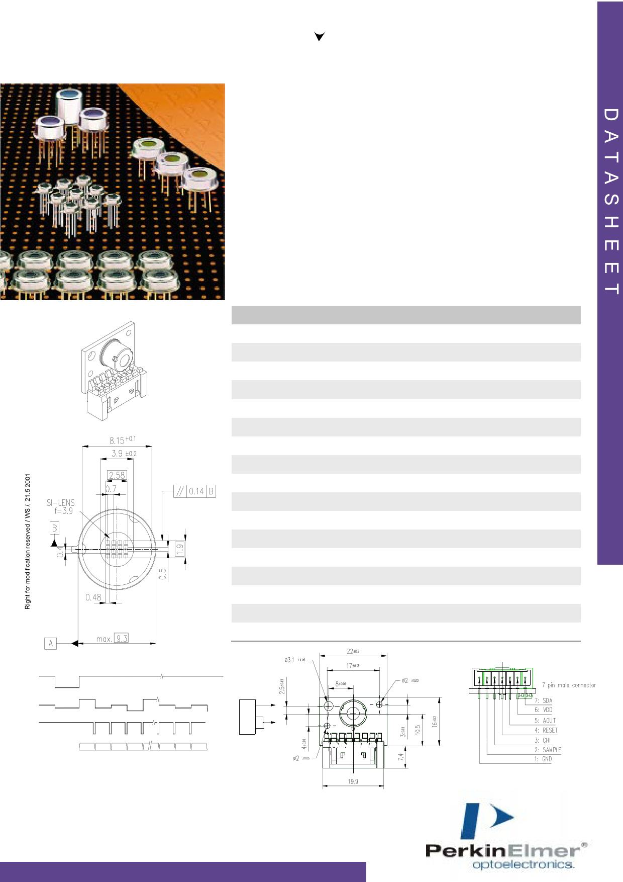 TPAM166L3.9 datasheet
