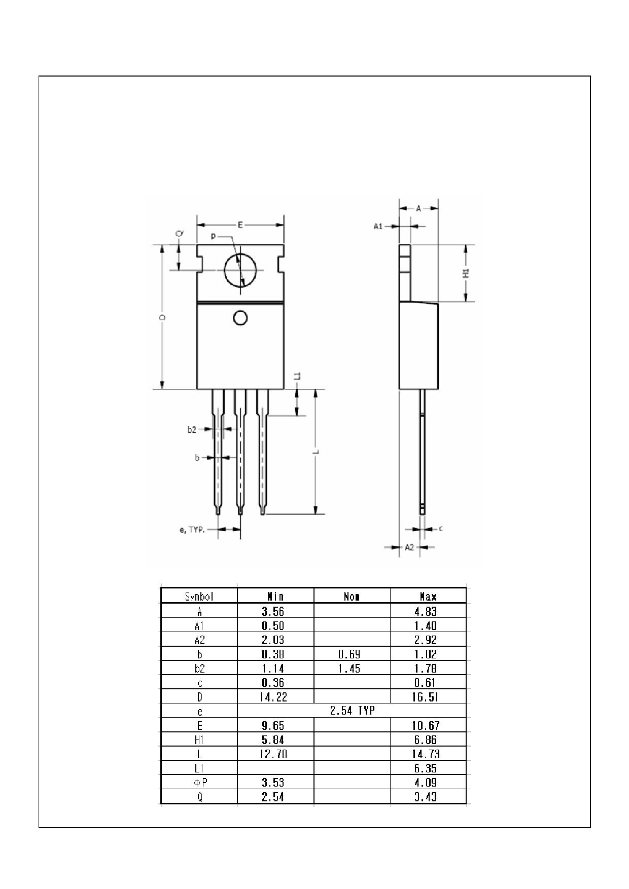 MDP12N50F 電子部品, 半導体
