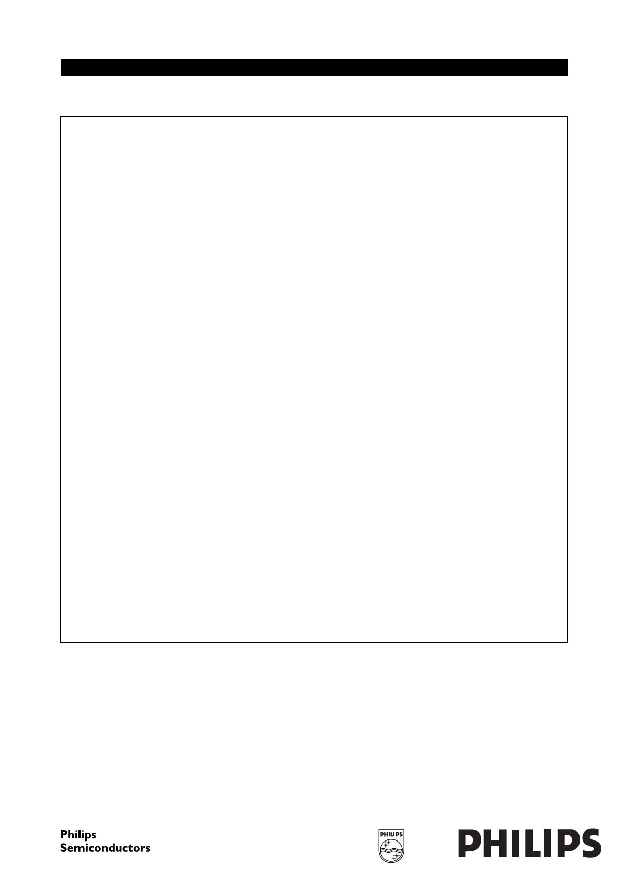 SAA5700GP دیتاشیت PDF