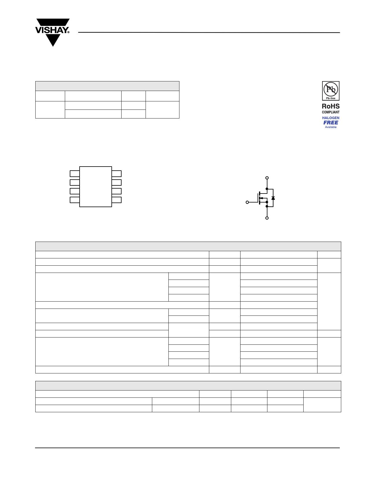 SI4436DY datasheet