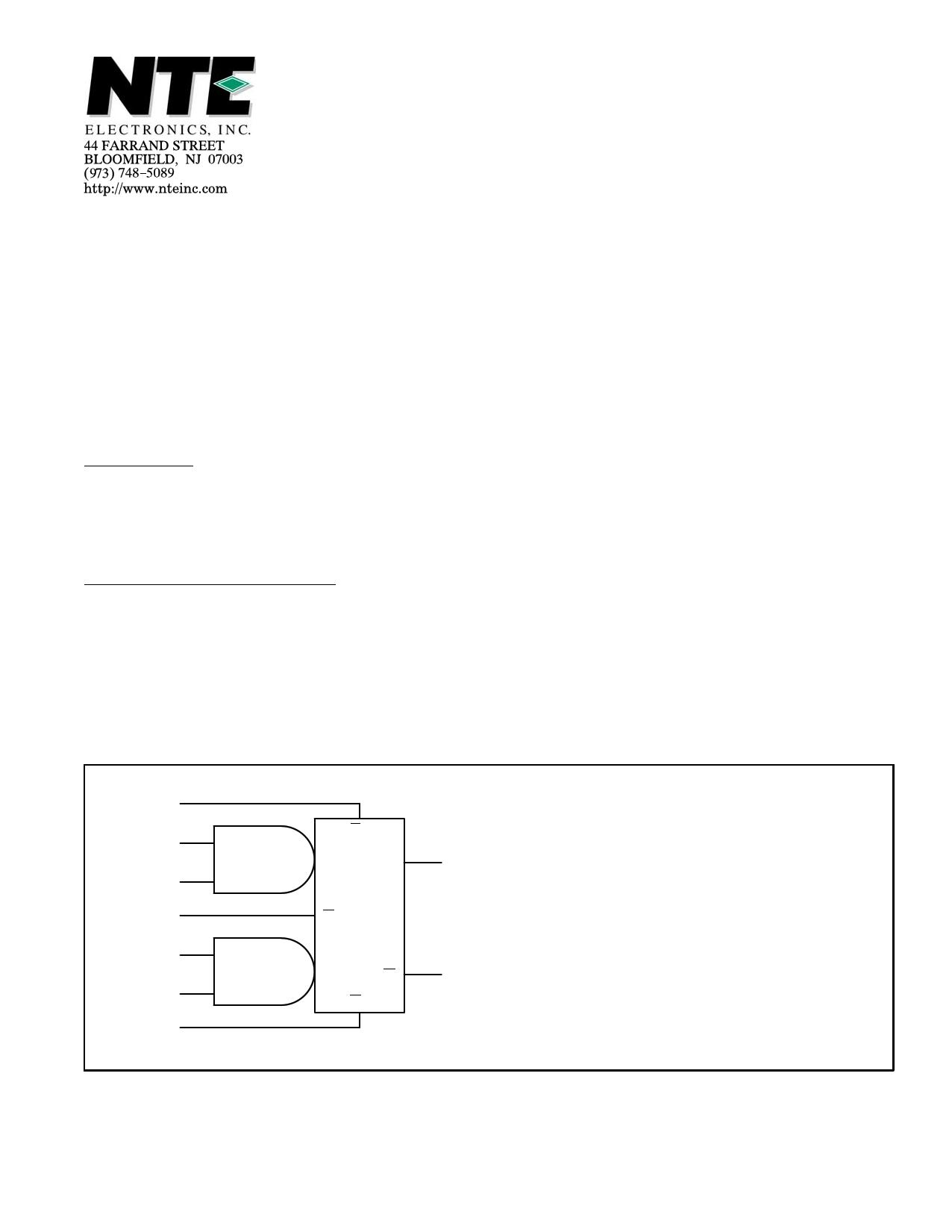 NTE9664 datasheet