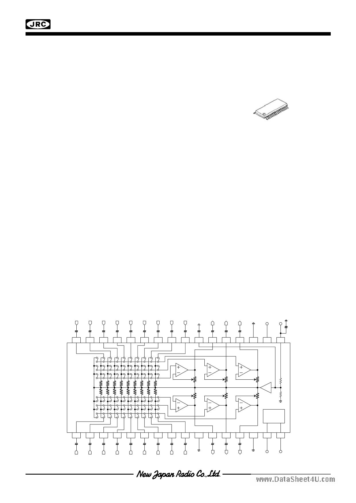 NJW1110 دیتاشیت PDF