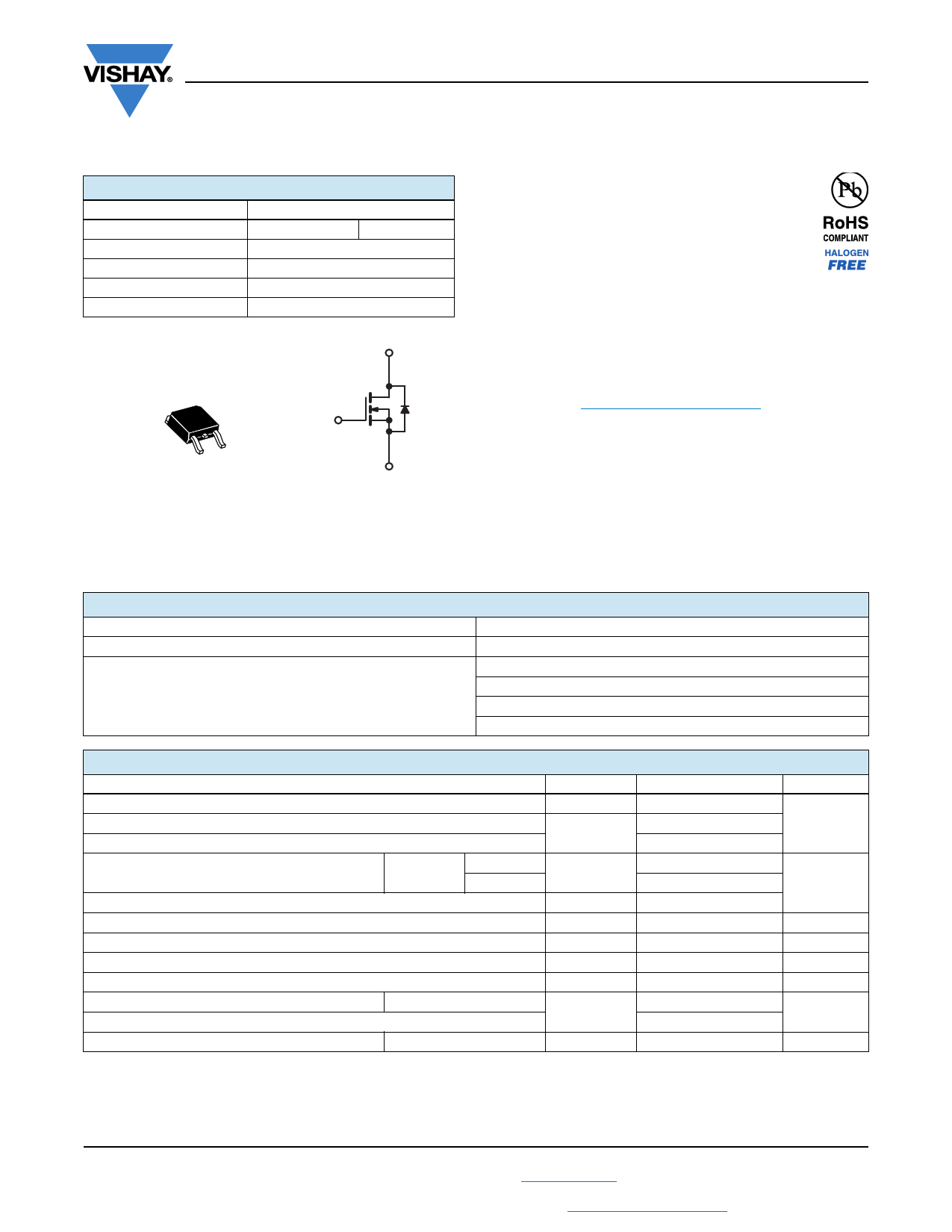 SiHD5N50D Fiche technique PDF