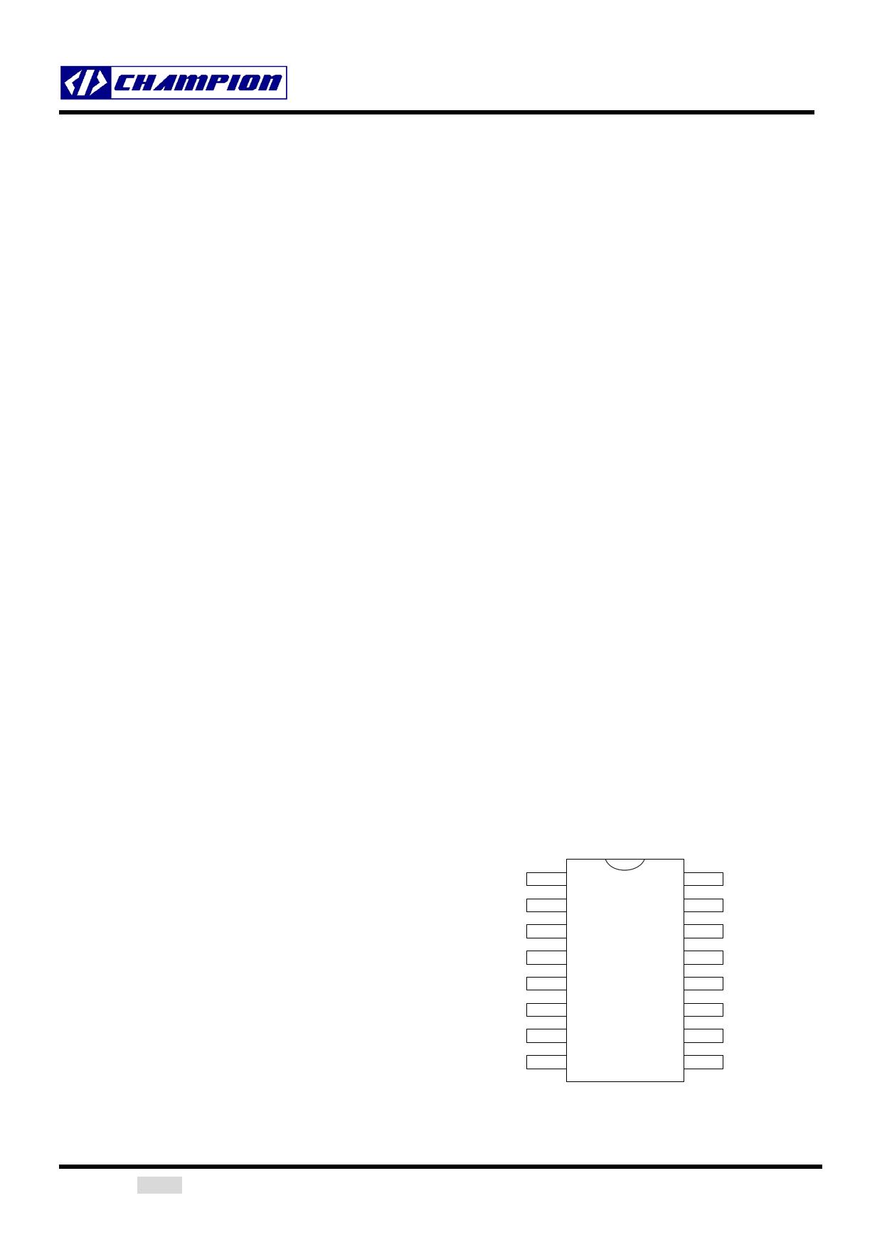 CM6800 Datasheet, CM6800 PDF,ピン配置, 機能