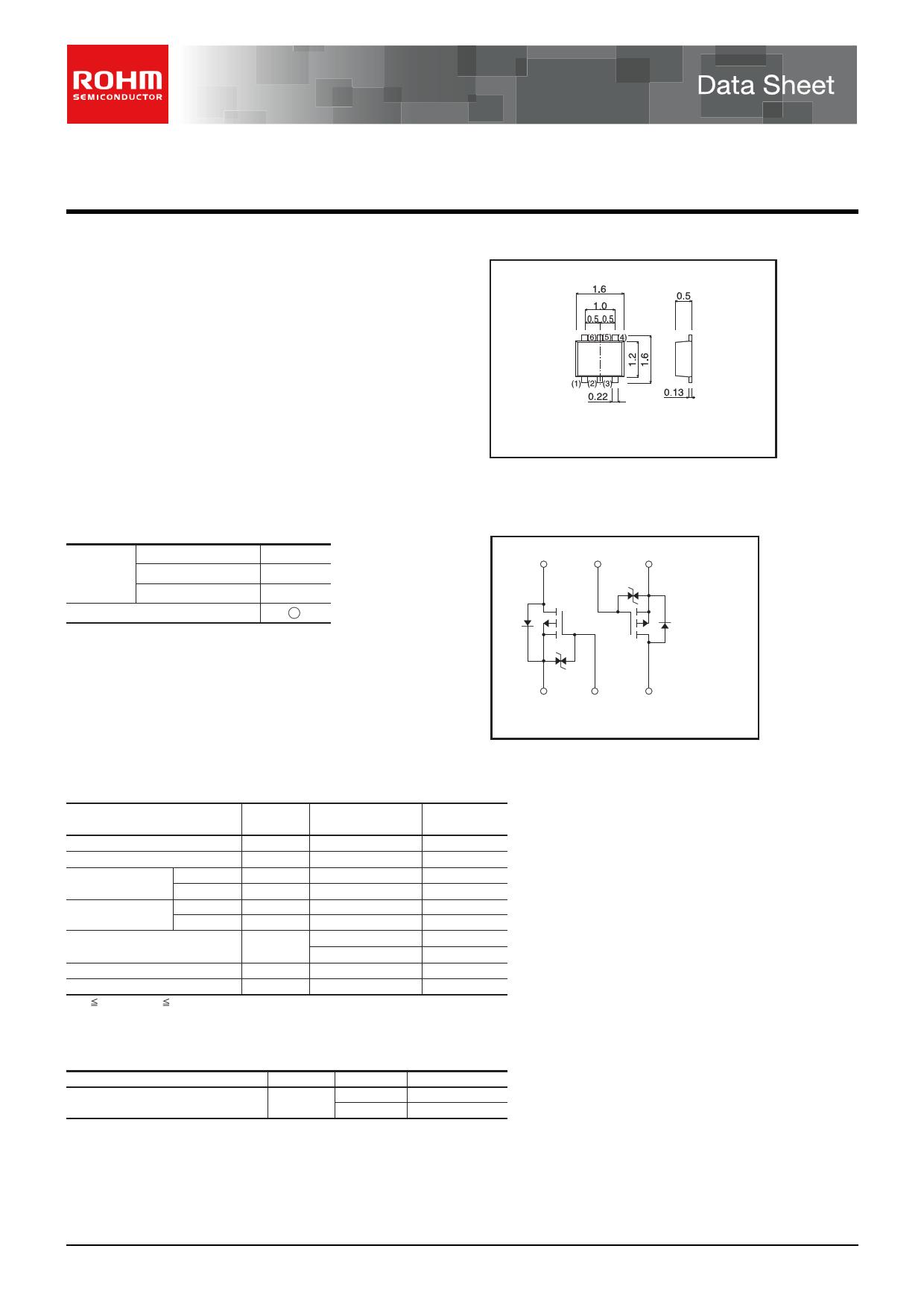 EM6J1 데이터시트 및 EM6J1 PDF