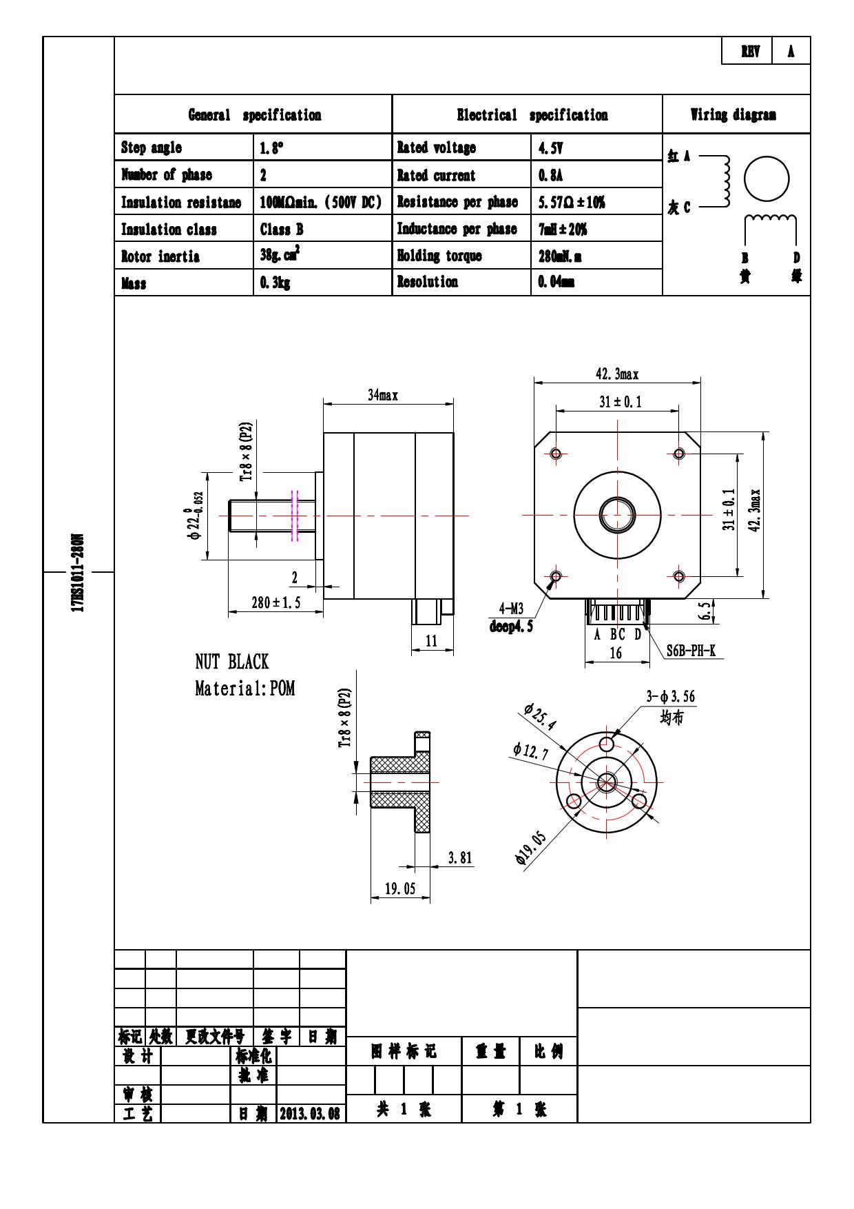17HS3001-280N دیتاشیت PDF
