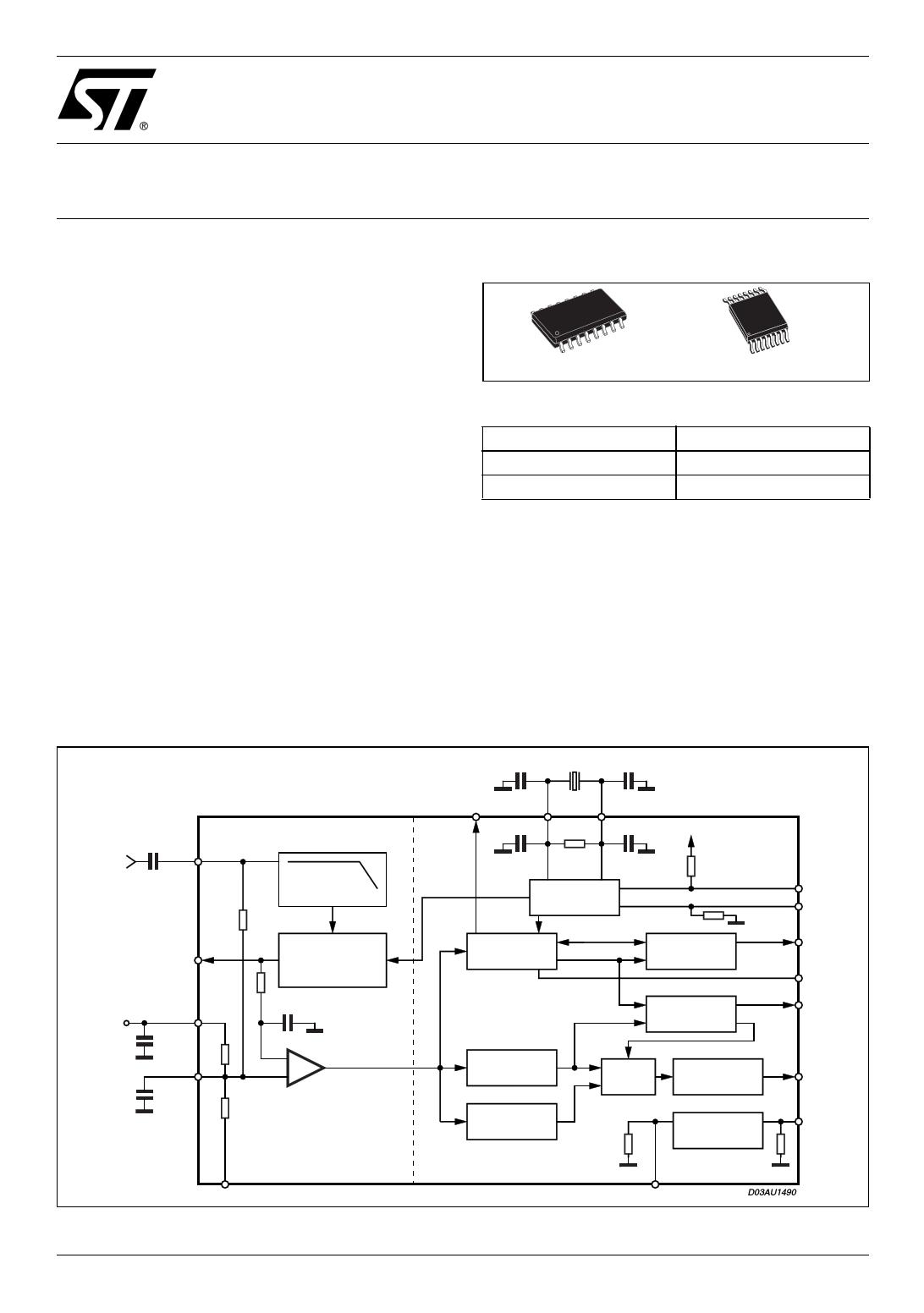 E-TDA7478AD دیتاشیت PDF