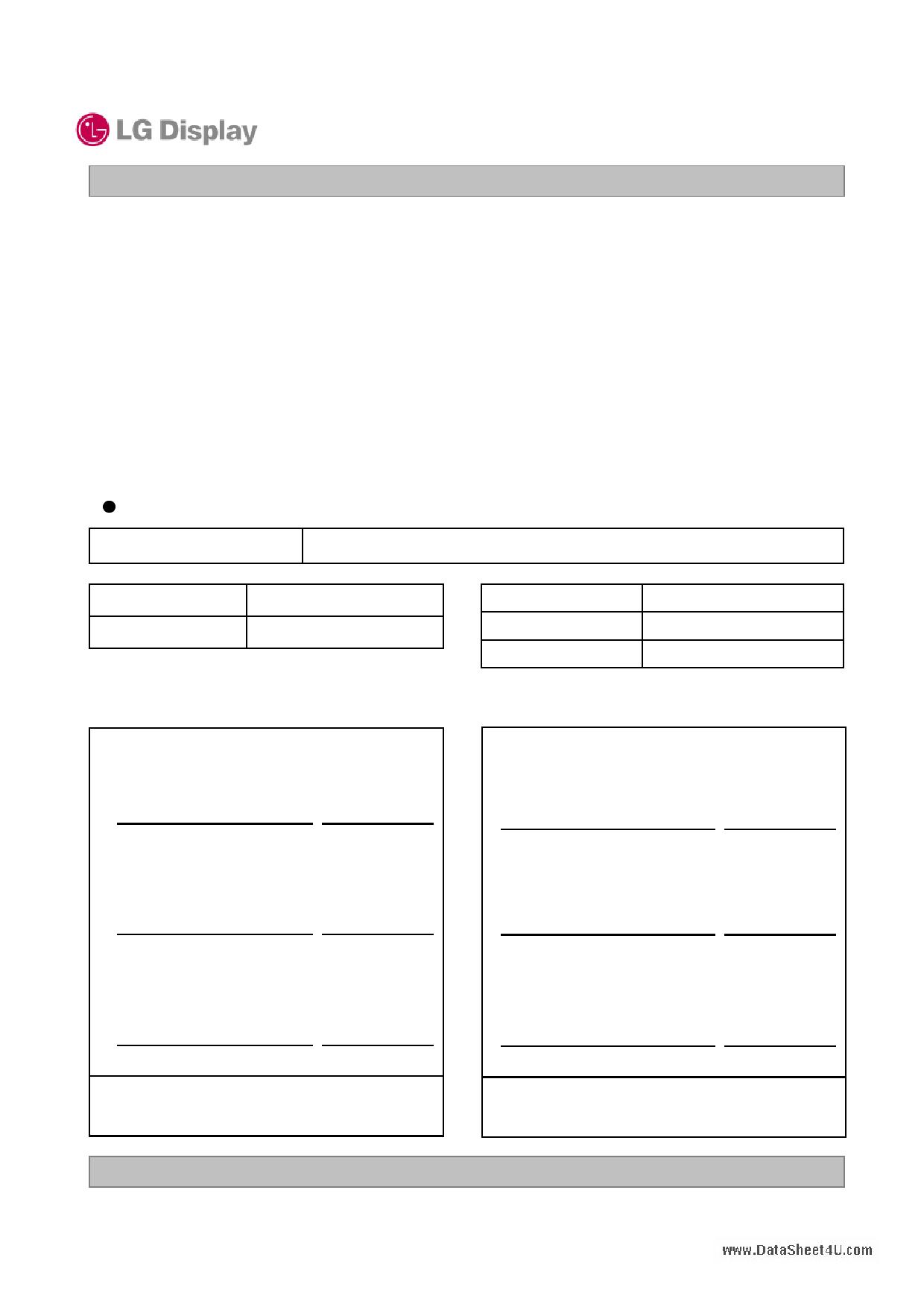 LD420WUB-SAA1 دیتاشیت PDF