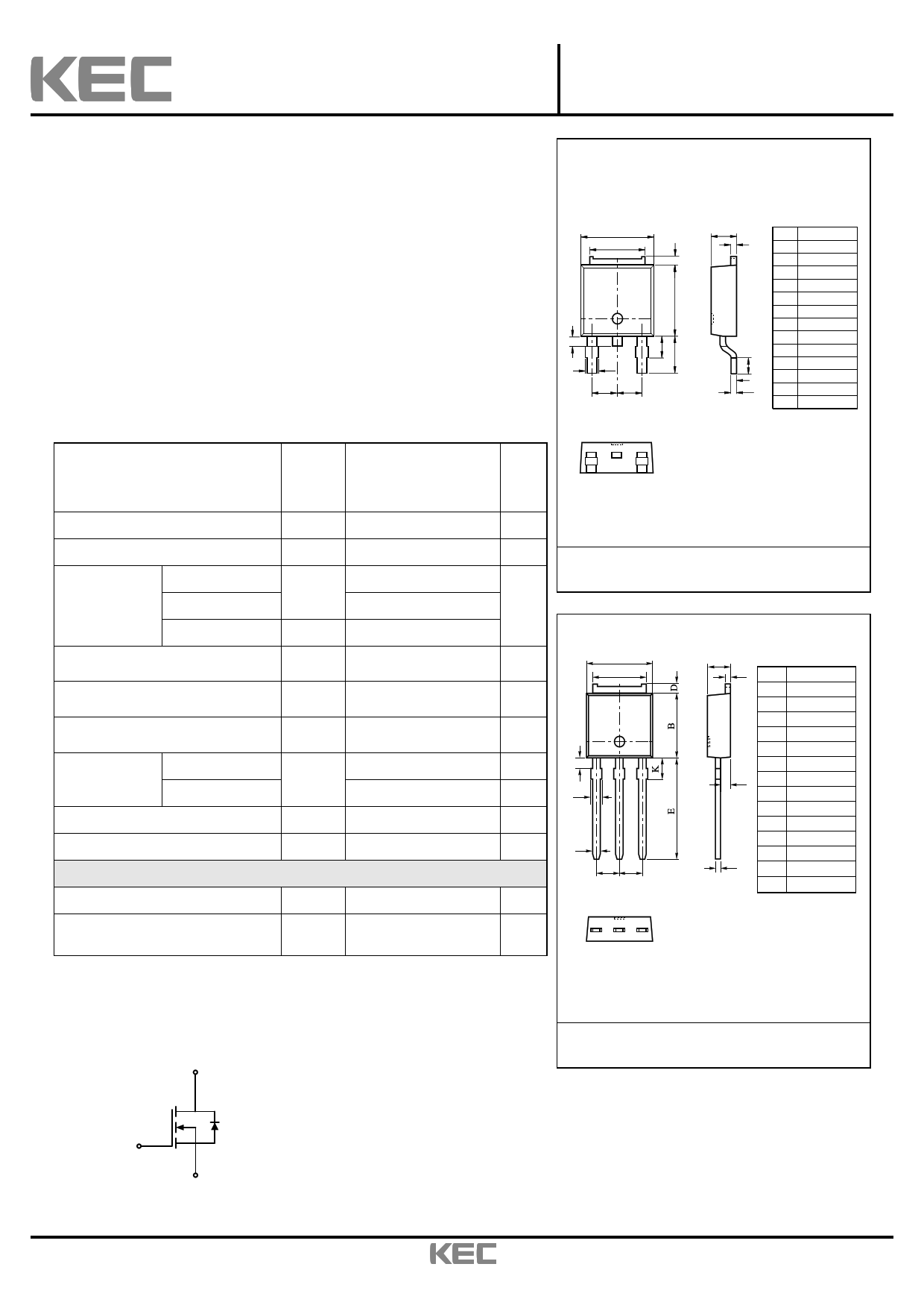 KF3N60I datasheet