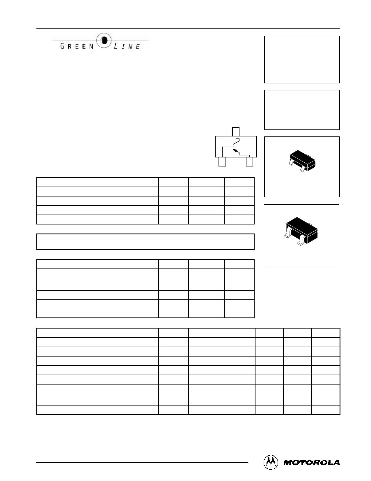 MMBT1010LT1 Datasheet, MMBT1010LT1 PDF,ピン配置, 機能