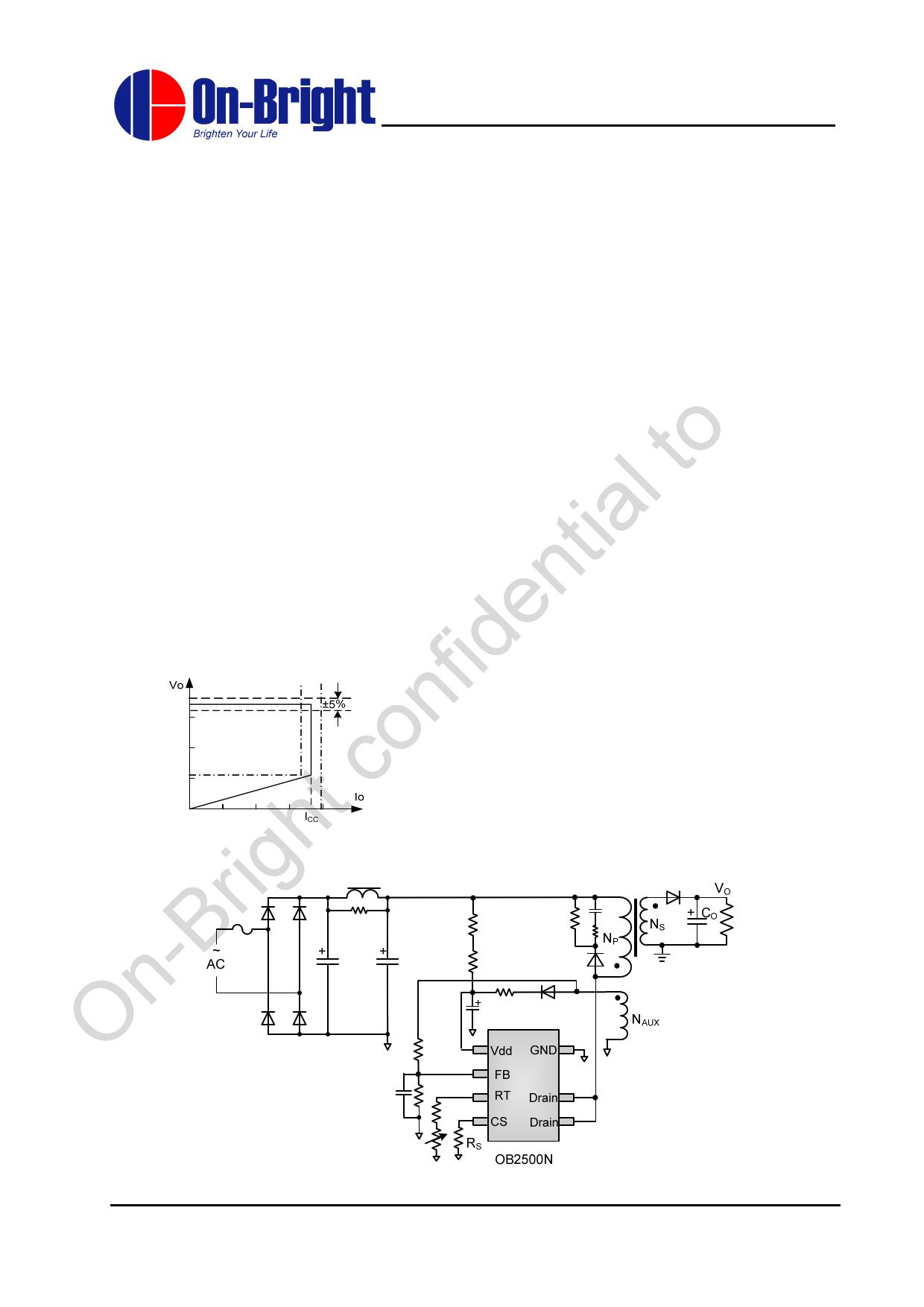 OB2500N دیتاشیت PDF