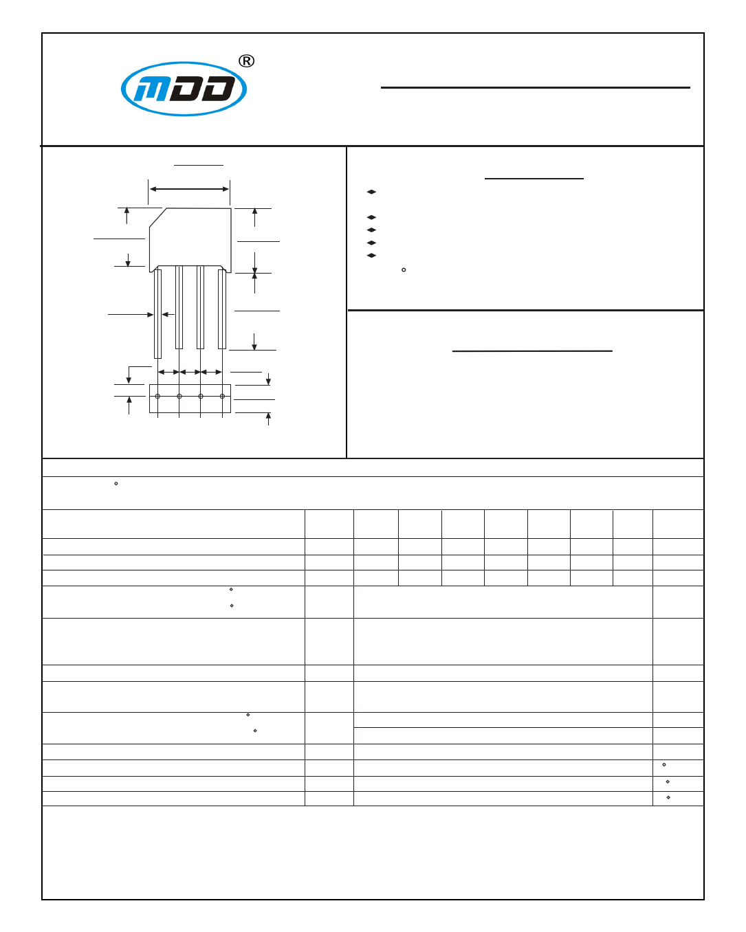KBL06 دیتاشیت PDF